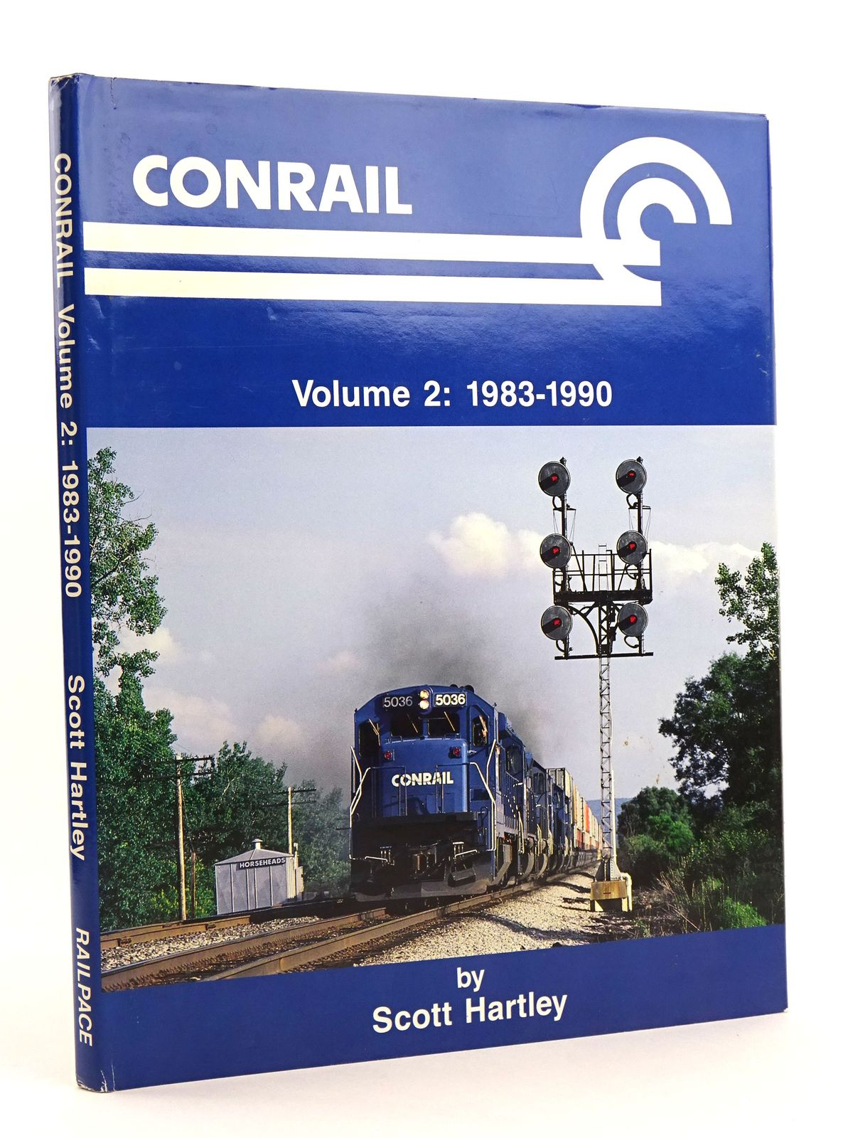 Photo of CONRAIL VOLUME 2: 1983-1990 written by Hartley, Scott published by Railpace Company, Inc. (STOCK CODE: 1818123)  for sale by Stella & Rose's Books
