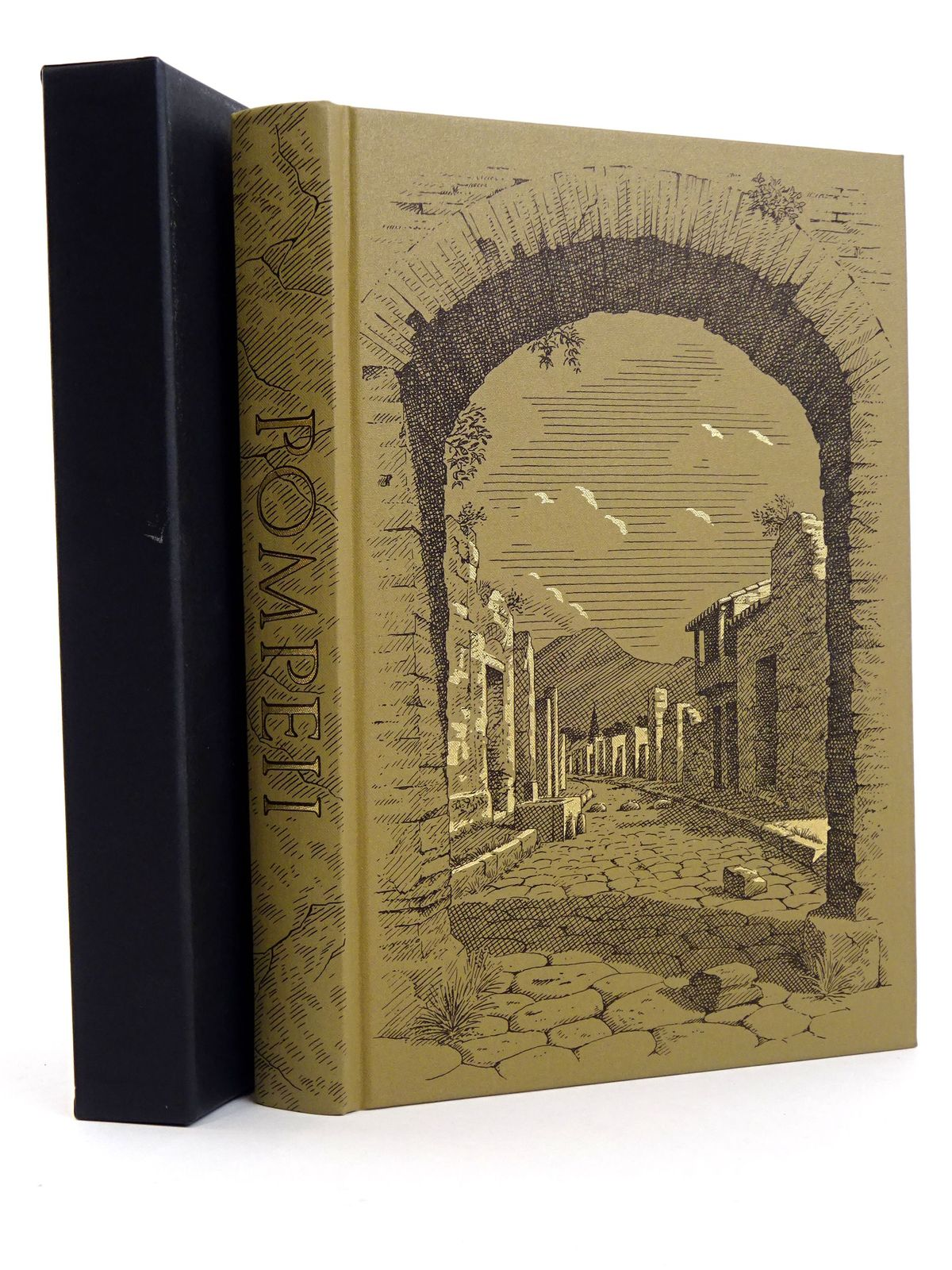 Photo of POMPEII & HERCULANEUM CITIES OF VESUVIUS written by Grant, Michael published by Folio Society (STOCK CODE: 1818132)  for sale by Stella & Rose's Books
