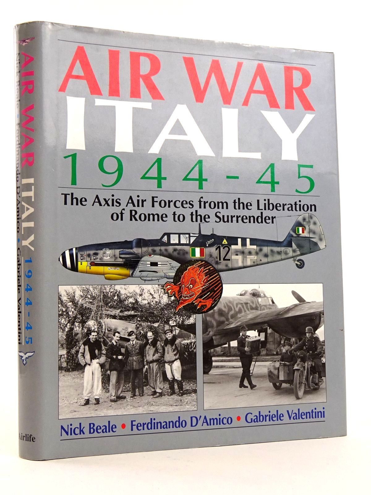 Photo of AIR WAR ITALY 1944-45 written by Beale, Nick