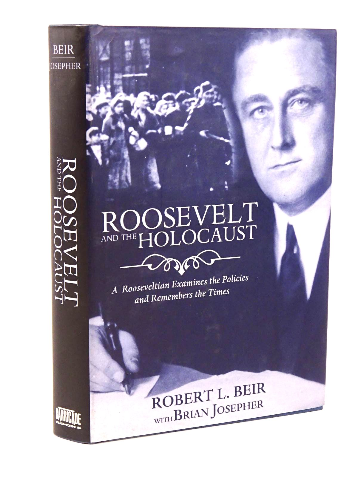 Photo of ROOSEVELT AND THE HOLOCAUST- Stock Number: 1818245