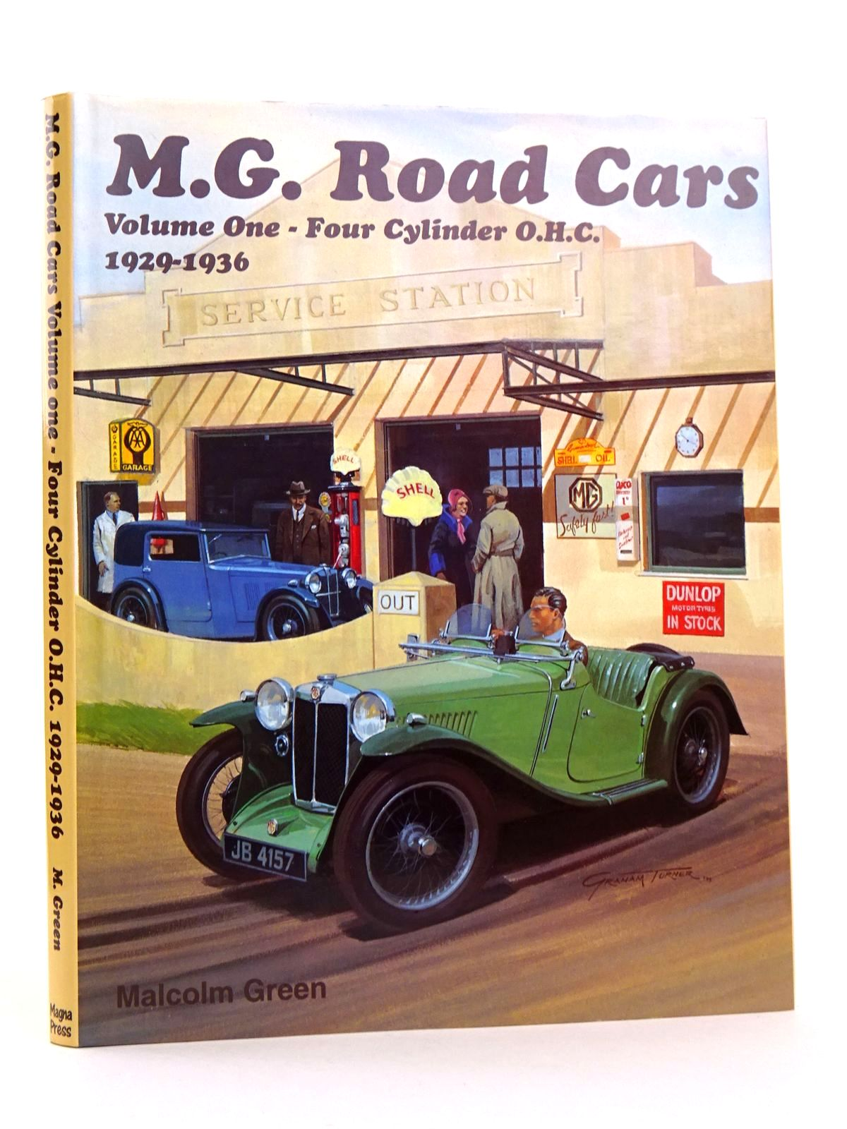 Photo of M.G. ROAD CARS VOLUME ONE - FOUR CYLINDER O.H.C. 1929-1936- Stock Number: 1818257
