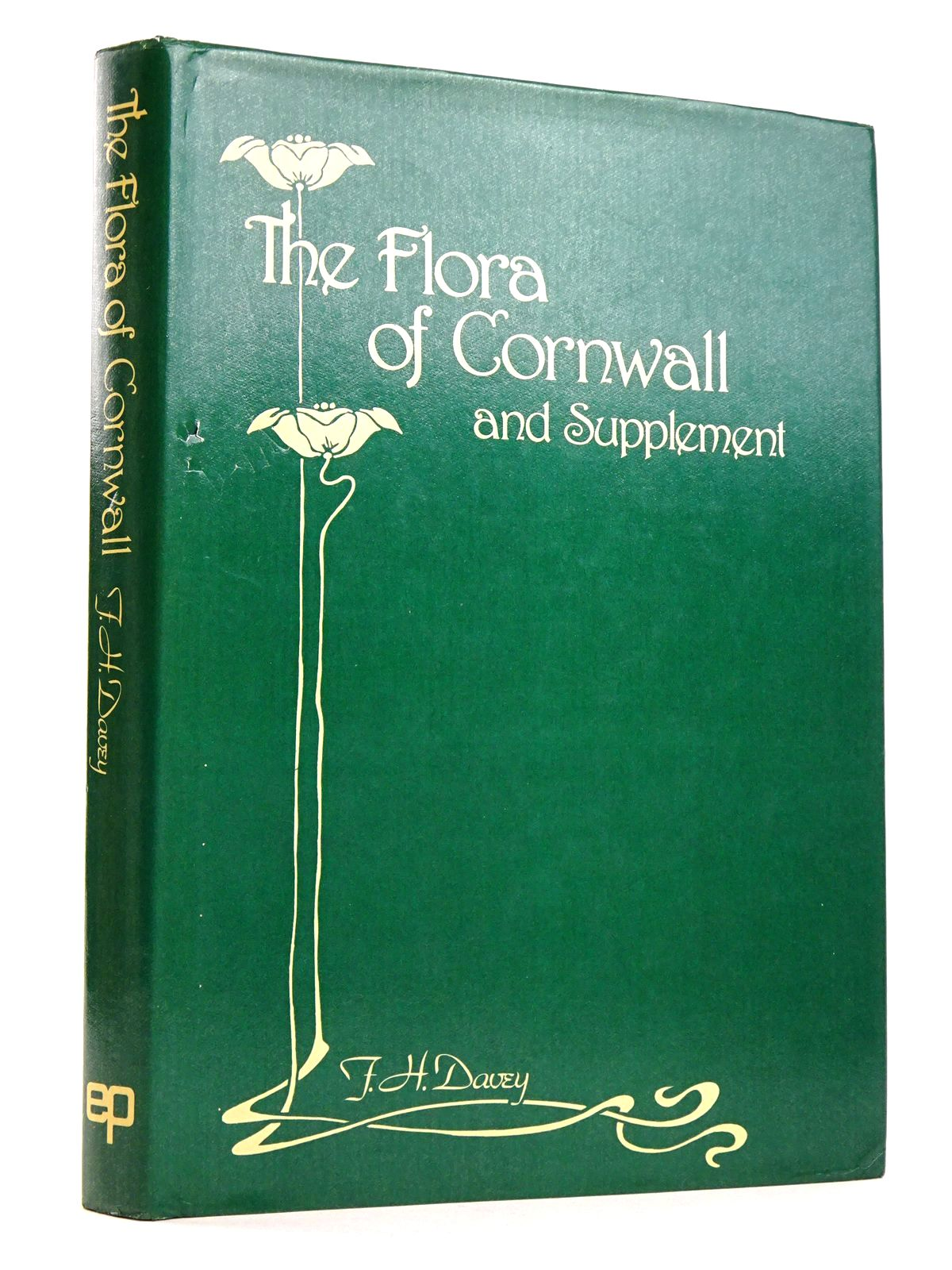Photo of FLORA OF CORNWALL AND SUPPLEMENT written by Davey, F. Hamilton<br />Thurston, Edgar<br />Vigurs, Chambre C. published by EP Publishing Limited (STOCK CODE: 1818278)  for sale by Stella & Rose's Books