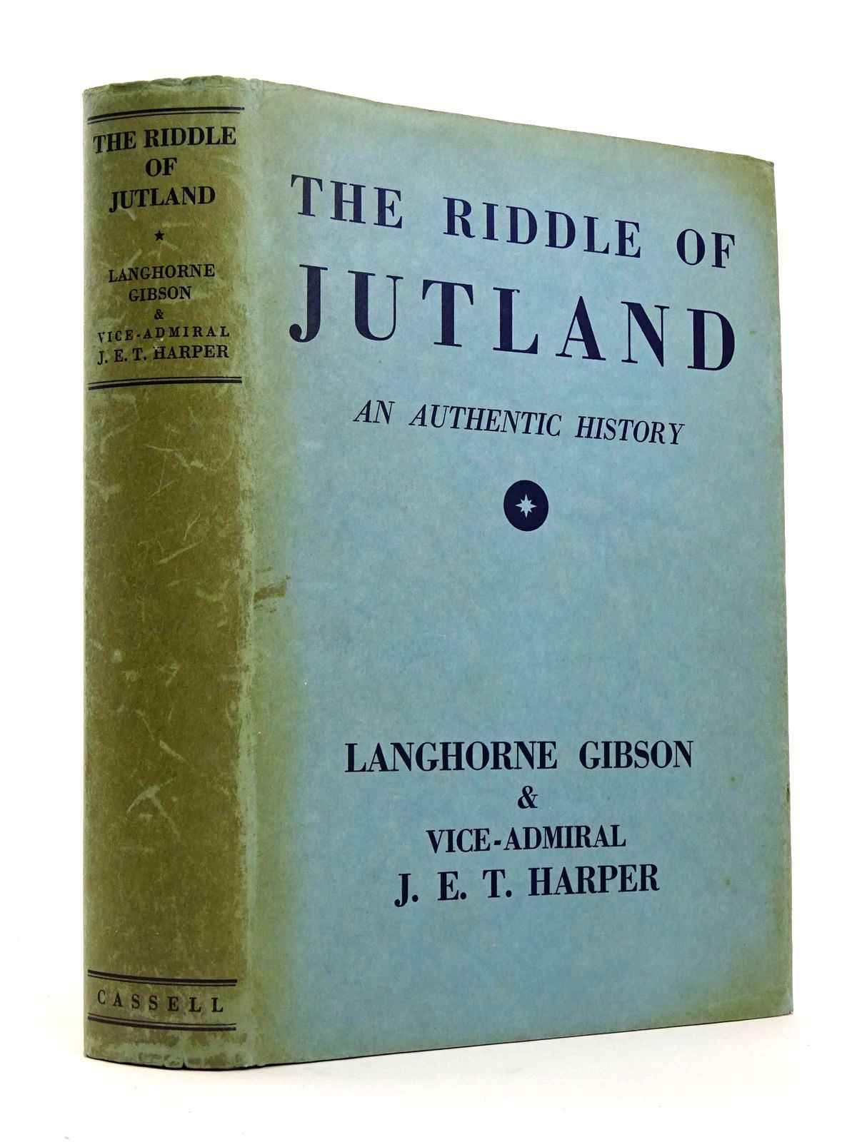 Photo of THE RIDDLE OF JUTLAND: AN AUTHENTIC HISTORY- Stock Number: 1818298