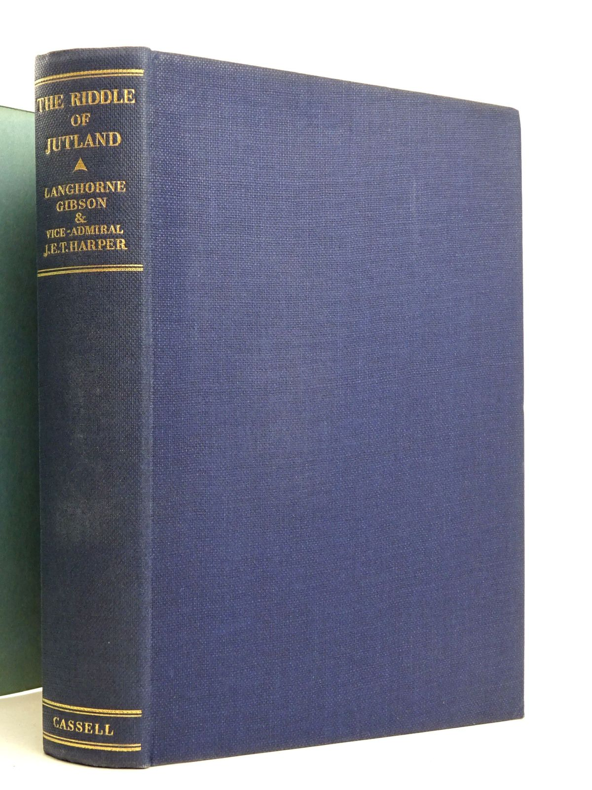 Photo of THE RIDDLE OF JUTLAND: AN AUTHENTIC HISTORY written by Gibson, Langhorne<br />Harper, J.E.T. published by Cassell &amp; Company Limited (STOCK CODE: 1818298)  for sale by Stella & Rose's Books