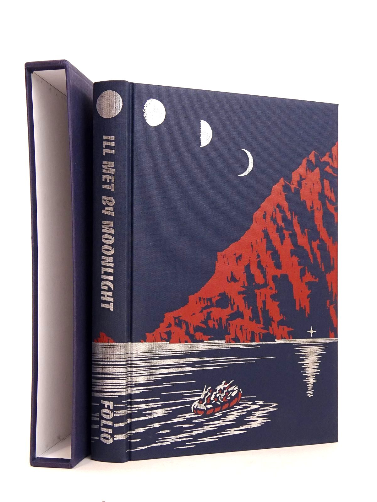 Photo of ILL MET BY MOONLIGHT written by Moss, W. Stanley published by Folio Society (STOCK CODE: 1818300)  for sale by Stella & Rose's Books