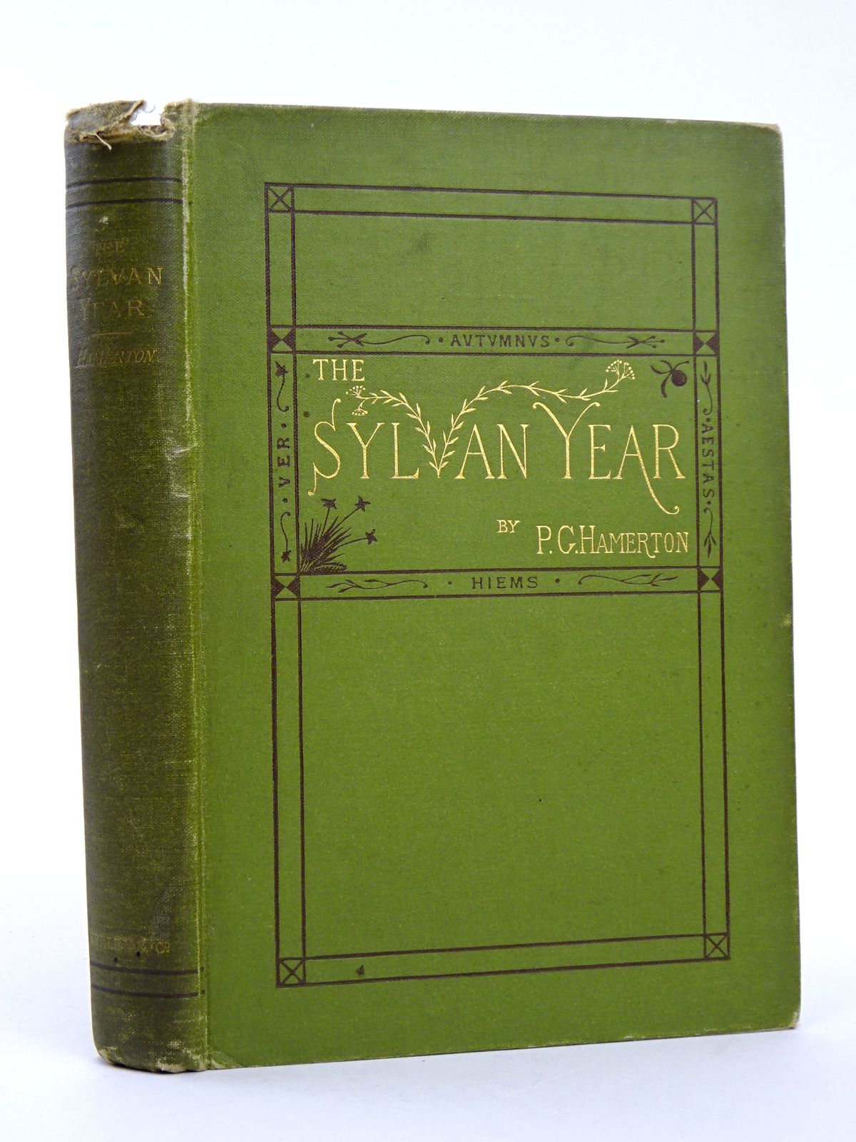 Photo of THE SYLVAN YEAR written by Hamerton, Philip Gilbert published by Seeley & Co. (STOCK CODE: 1818309)  for sale by Stella & Rose's Books
