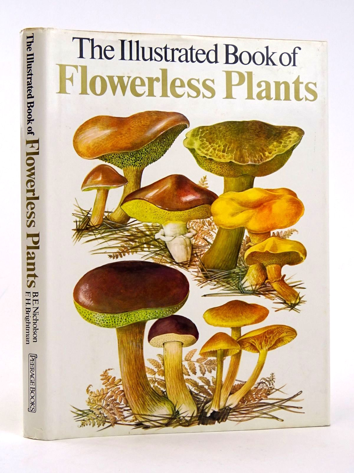 Photo of THE ILLUSTRATED BOOK OF FLOWERLESS PLANTS- Stock Number: 1818315