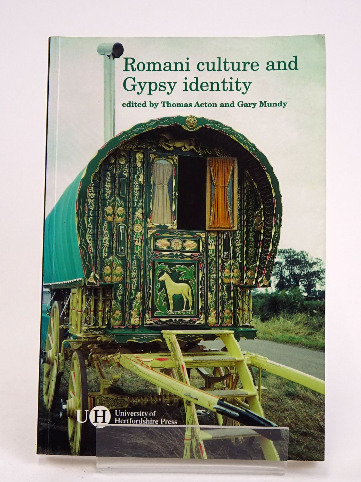 Photo of ROMANI CULTURE AND GYPSY IDENTITY written by Acton, Thomas Mundy, Gary published by University Of Hertfordshire (STOCK CODE: 1818323)  for sale by Stella & Rose's Books