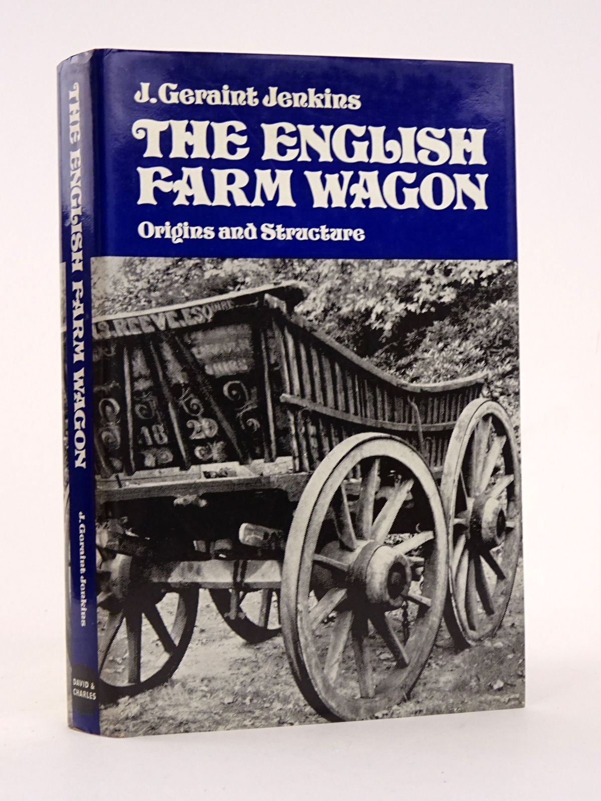 Photo of THE ENGLISH FARM WAGON: ORIGINS AND STRUCTURE written by Jenkins, John Geraint published by David & Charles (STOCK CODE: 1818324)  for sale by Stella & Rose's Books