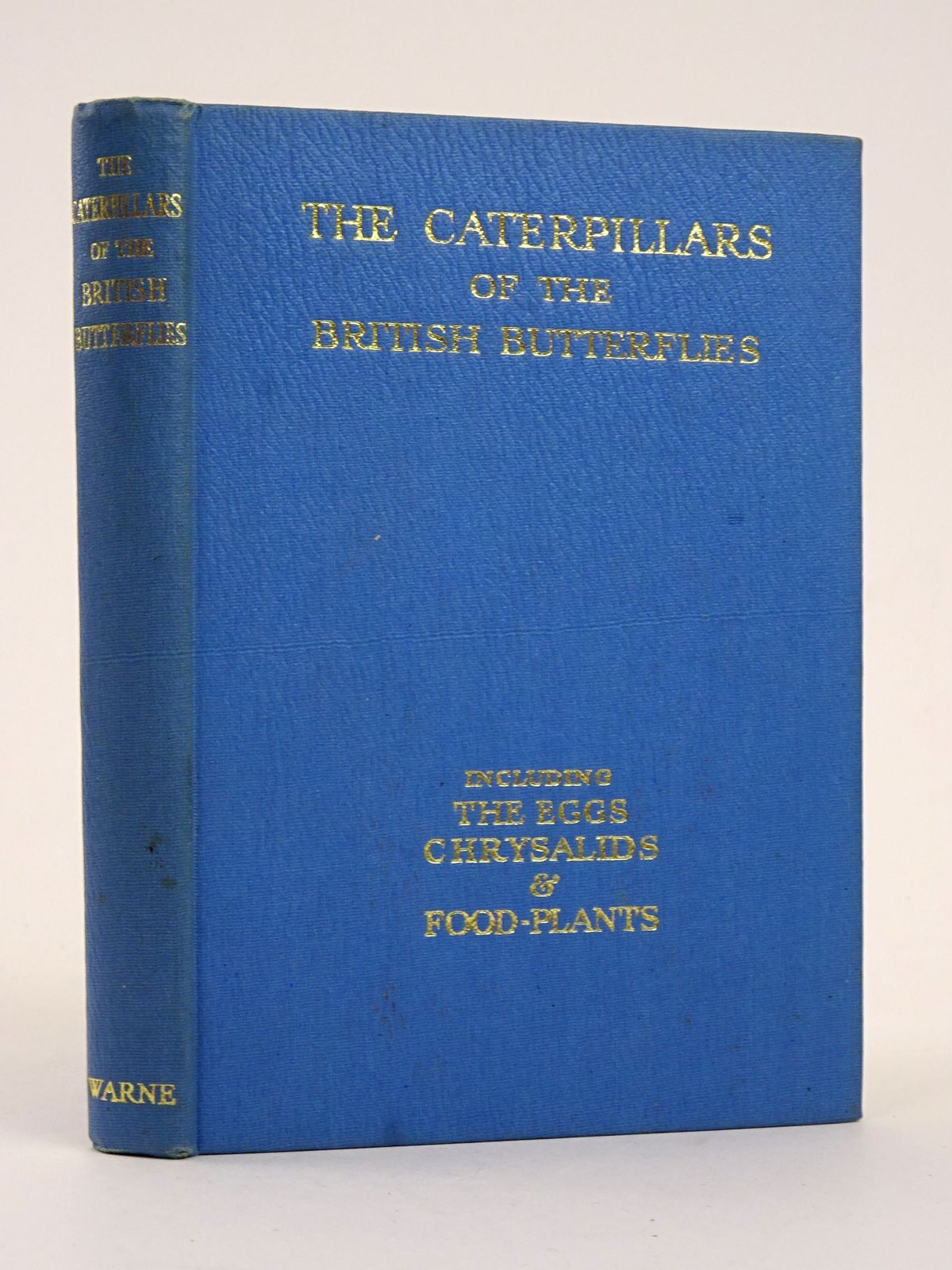 Photo of THE CATERPILLARS OF THE BRITISH BUTTERFLIES INCLUDING THE EGGS, CHRYSALIDS AND FOOD-PLANTS written by Stokoe, W.J. published by Frederick Warne & Co Ltd. (STOCK CODE: 1818329)  for sale by Stella & Rose's Books