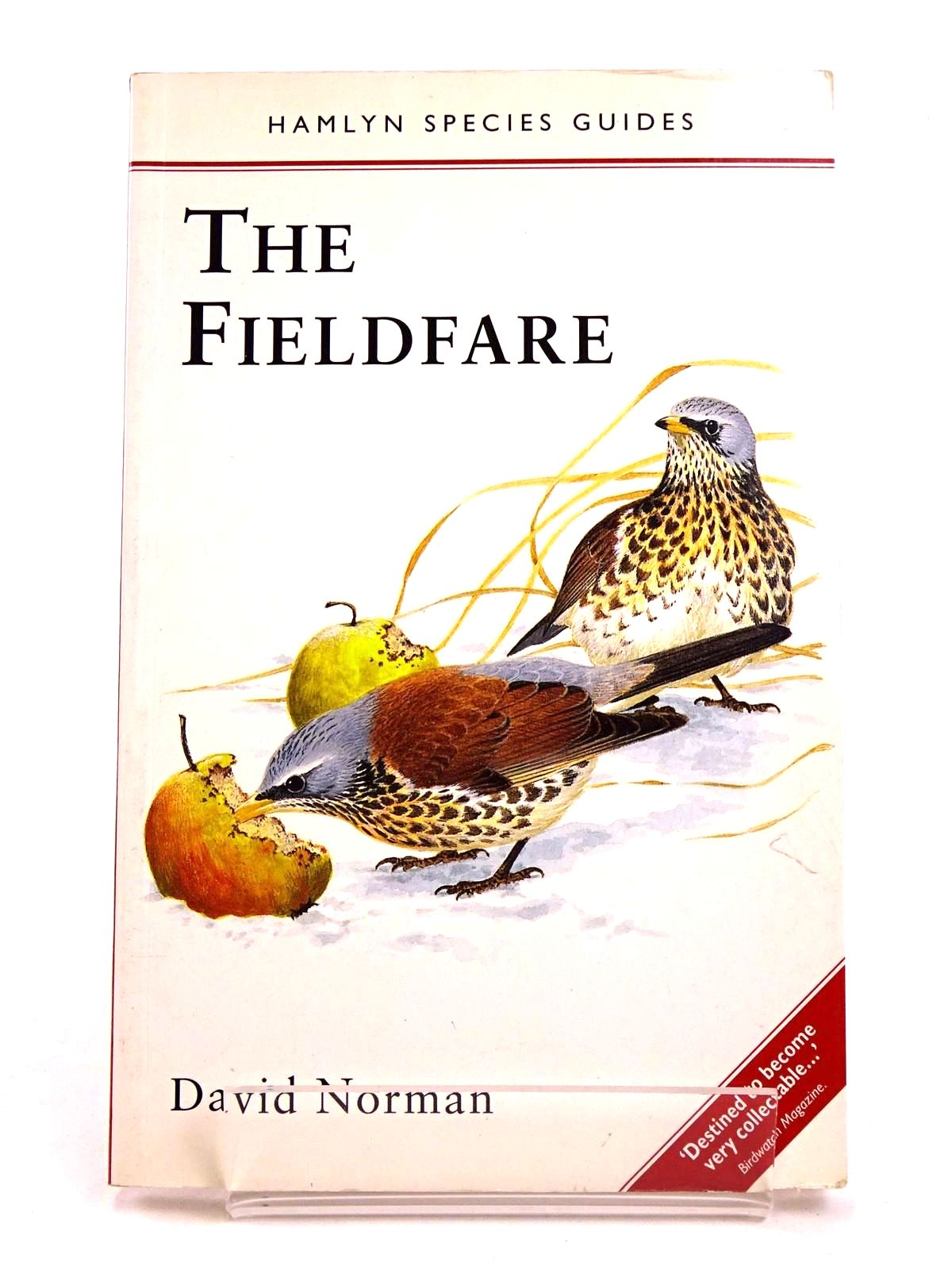 Photo of THE FIELDFARE (HAMLYN SPECIES GUIDES)- Stock Number: 1818336