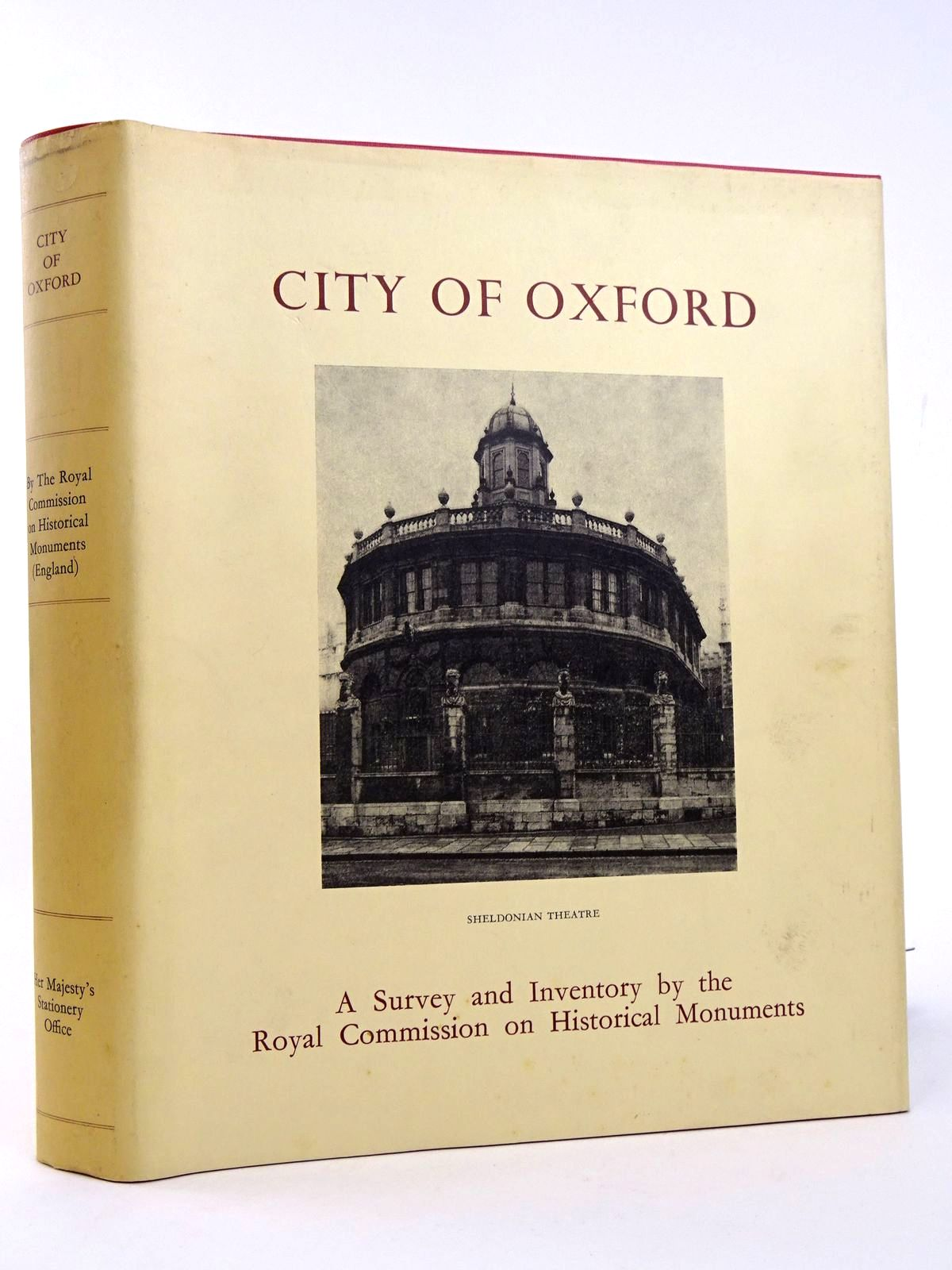 Photo of AN INVENTORY OF THE HISTORICAL MONUMENTS IN THE CITY OF OXFORD published by Her Majesty's Stationery Office (STOCK CODE: 1818352)  for sale by Stella & Rose's Books