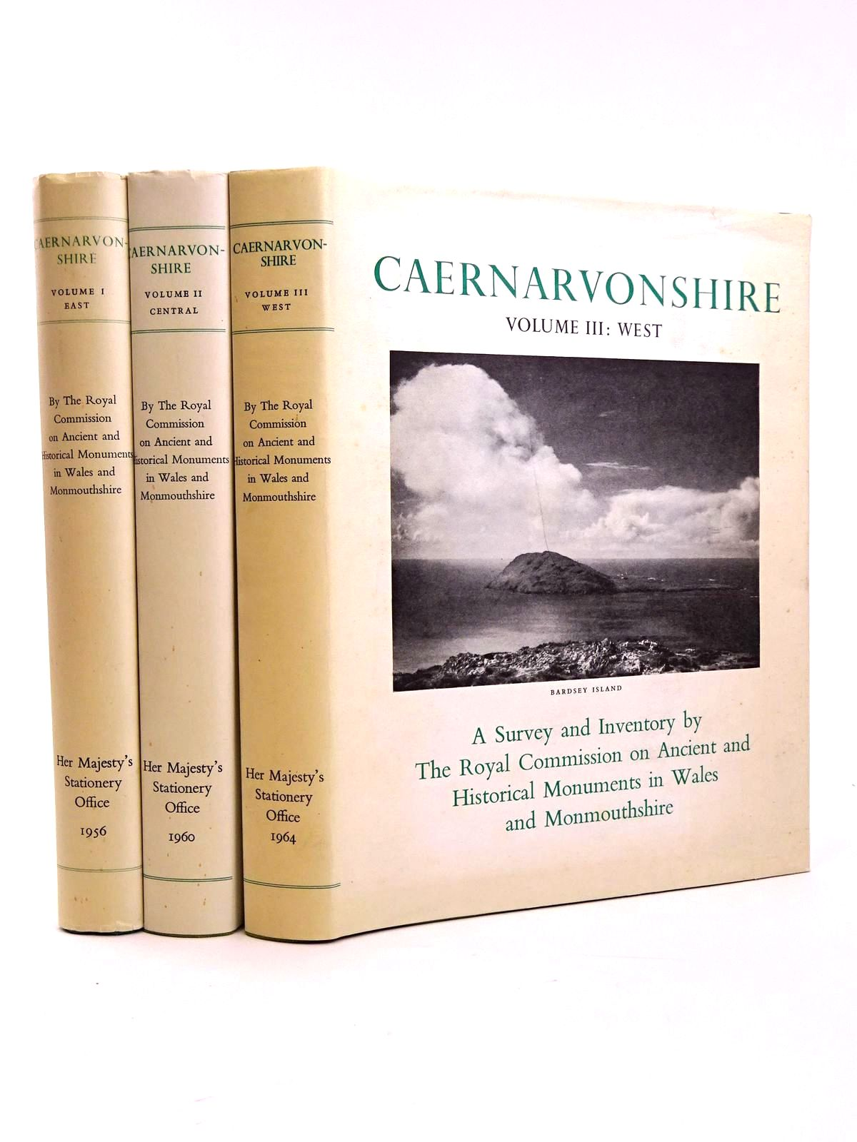 Photo of AN INVENTORY OF THE ANCIENT MONUMENTS IN CAERNARVONSHIRE (THREE VOLUMES)- Stock Number: 1818359