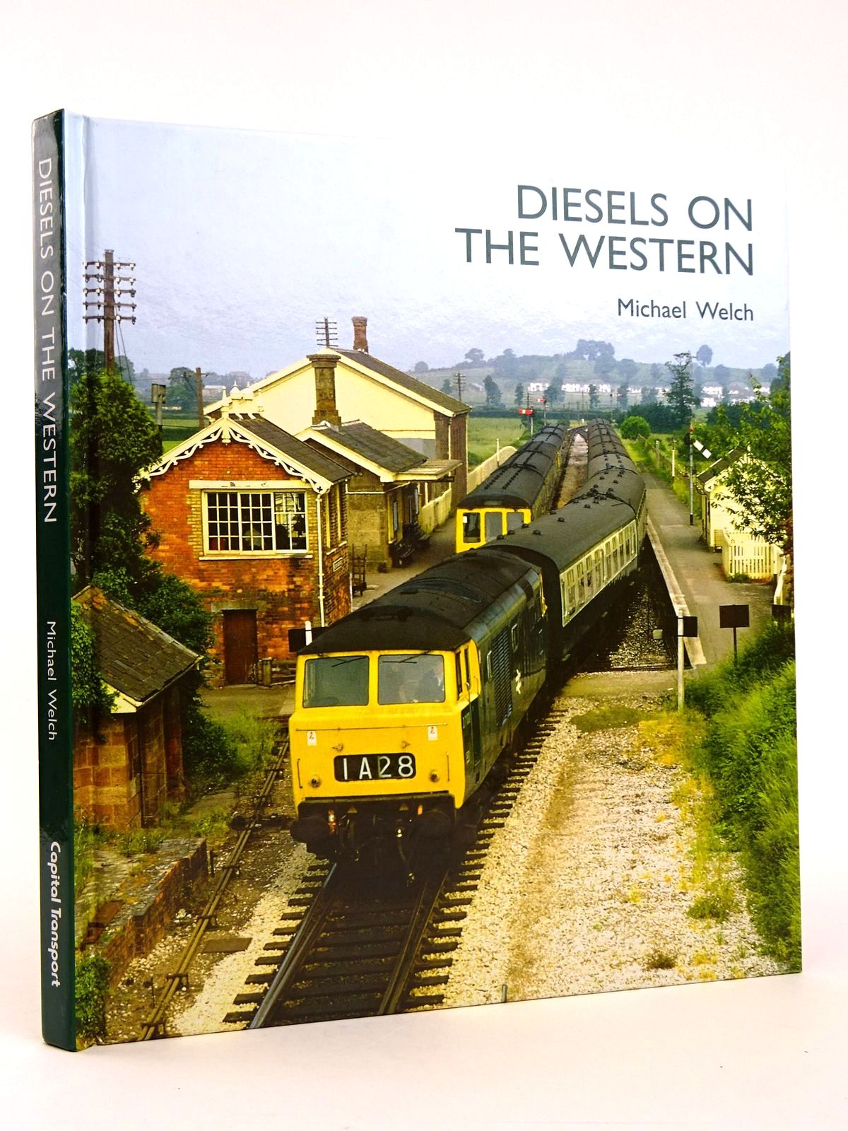 Photo of DIESELS ON THE WESTERN written by Welch, Michael published by Capital Transport (STOCK CODE: 1818366)  for sale by Stella & Rose's Books