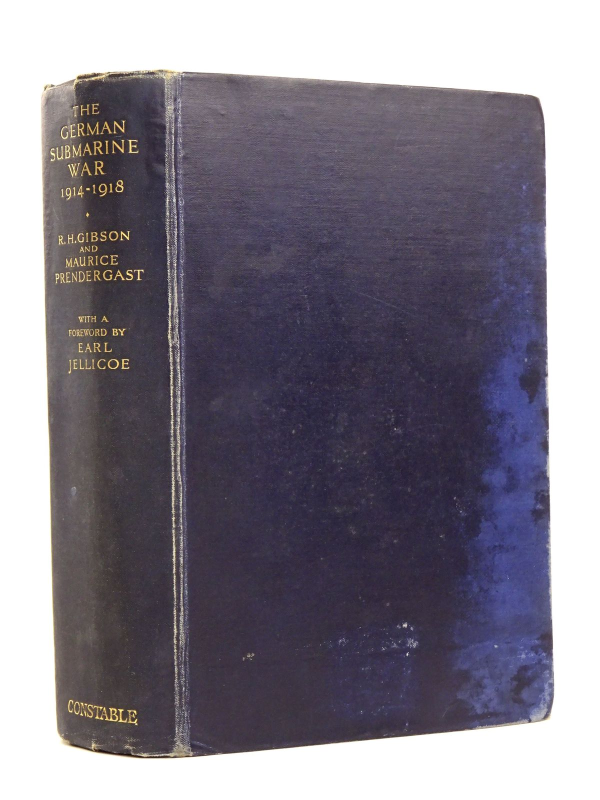 Photo of THE GERMAN SUBMARINE WAR 1914-1918 written by Gibson, R.H.<br />Prendergast, Maurice published by Constable &amp; Co. Ltd. (STOCK CODE: 1818374)  for sale by Stella & Rose's Books