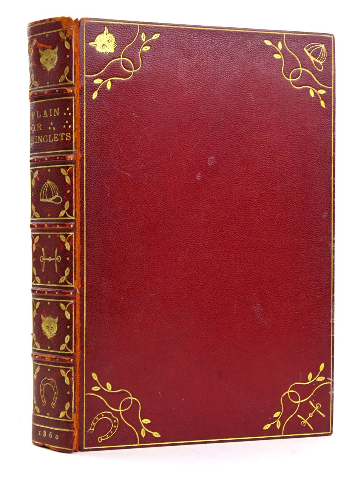 "Photo of ""PLAIN OR RINGLETS?"" written by Surtees, R.S. illustrated by Leech, John published by Bradbury & Evans (STOCK CODE: 1818387)  for sale by Stella & Rose's Books"