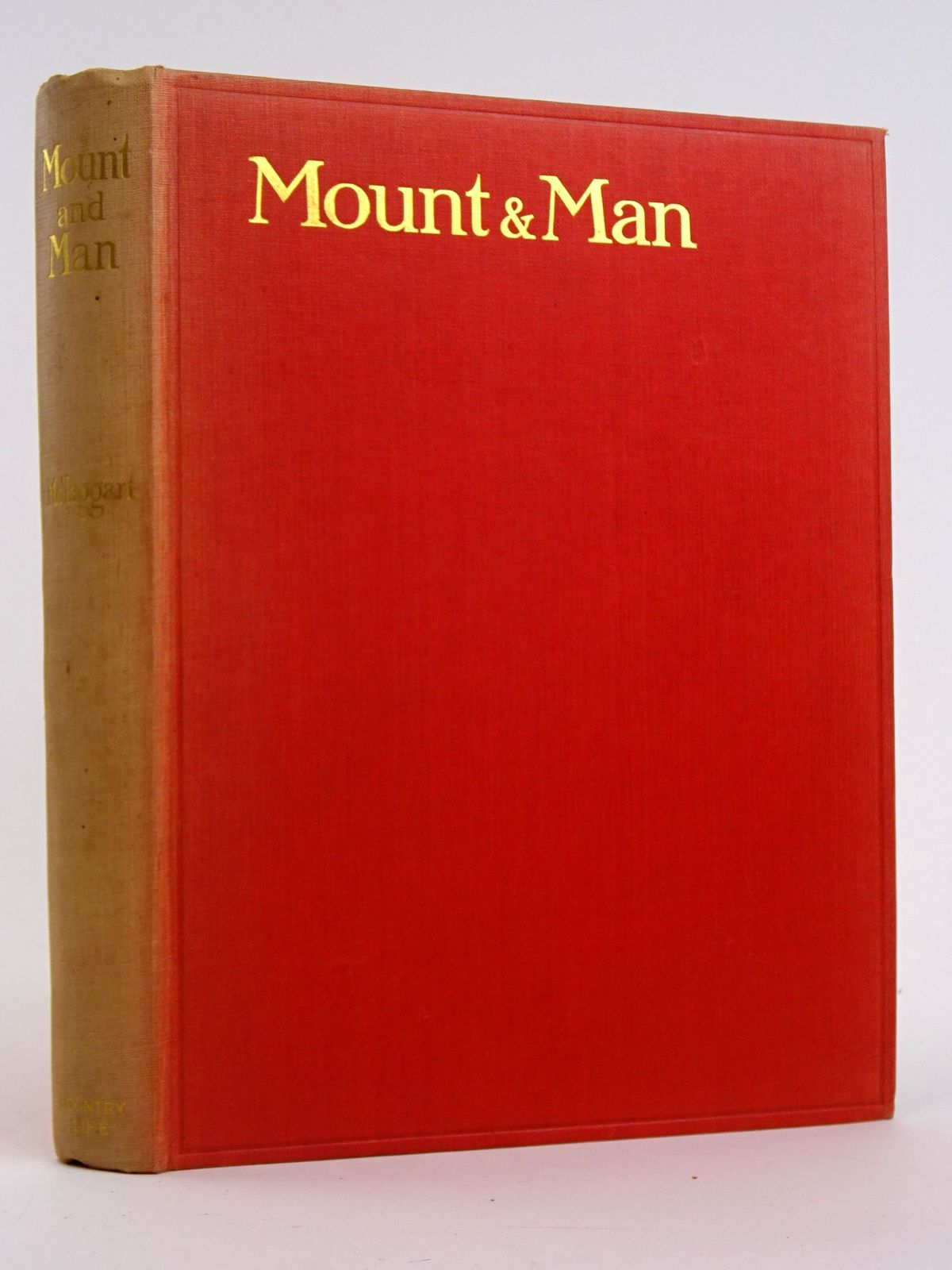 Photo of MOUNT AND MAN written by McTaggart, M.F. illustrated by Edwards, Lionel published by Country Life (STOCK CODE: 1818392)  for sale by Stella & Rose's Books