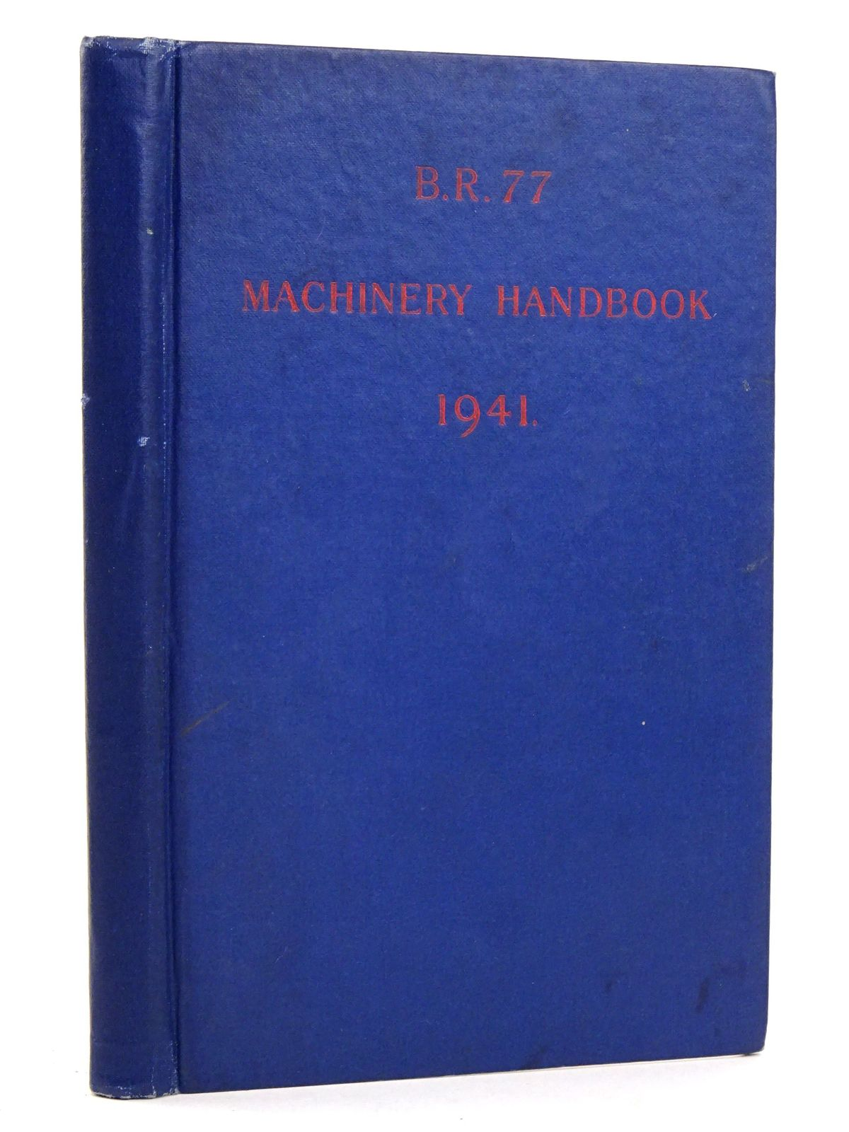 Photo of B.R.77 MACHINERY HANDBOOK- Stock Number: 1818398