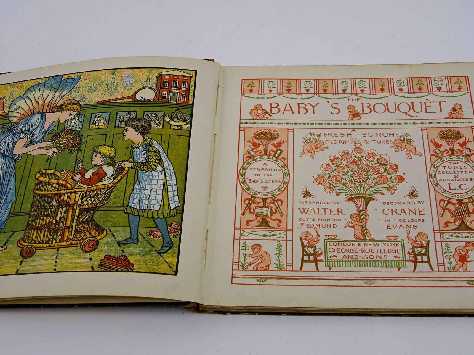 Photo of THE BABY'S BOUQUET written by Crane, Lucy illustrated by Crane, Walter published by George Routledge & Sons (STOCK CODE: 1818416)  for sale by Stella & Rose's Books