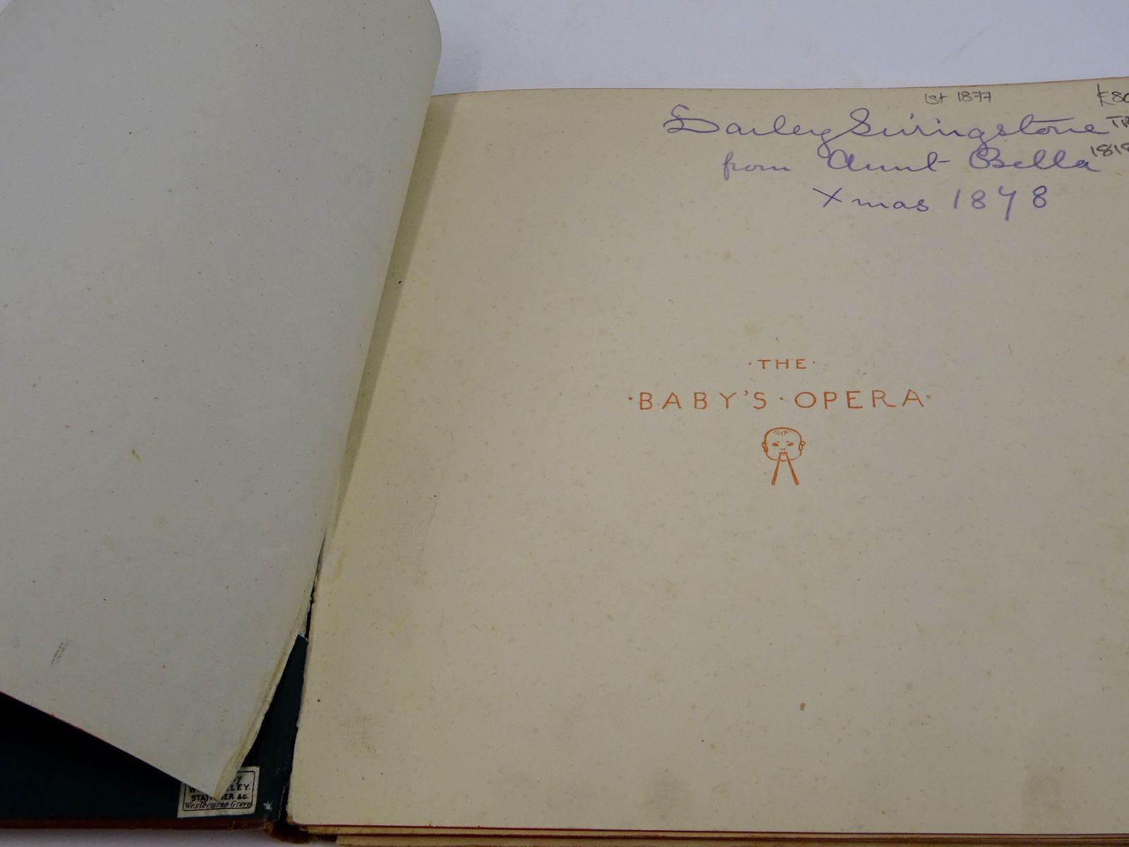 Photo of THE BABY'S OPERA illustrated by Crane, Walter published by George Routledge & Sons (STOCK CODE: 1818417)  for sale by Stella & Rose's Books