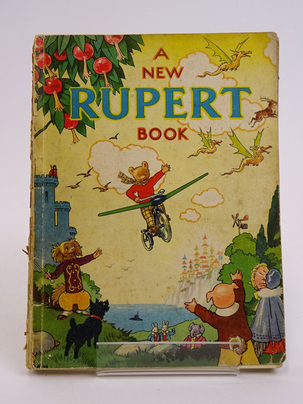 Photo of RUPERT ANNUAL 1945 - A NEW RUPERT BOOK written by Bestall, Alfred illustrated by Bestall, Alfred published by Daily Express (STOCK CODE: 1818418)  for sale by Stella & Rose's Books