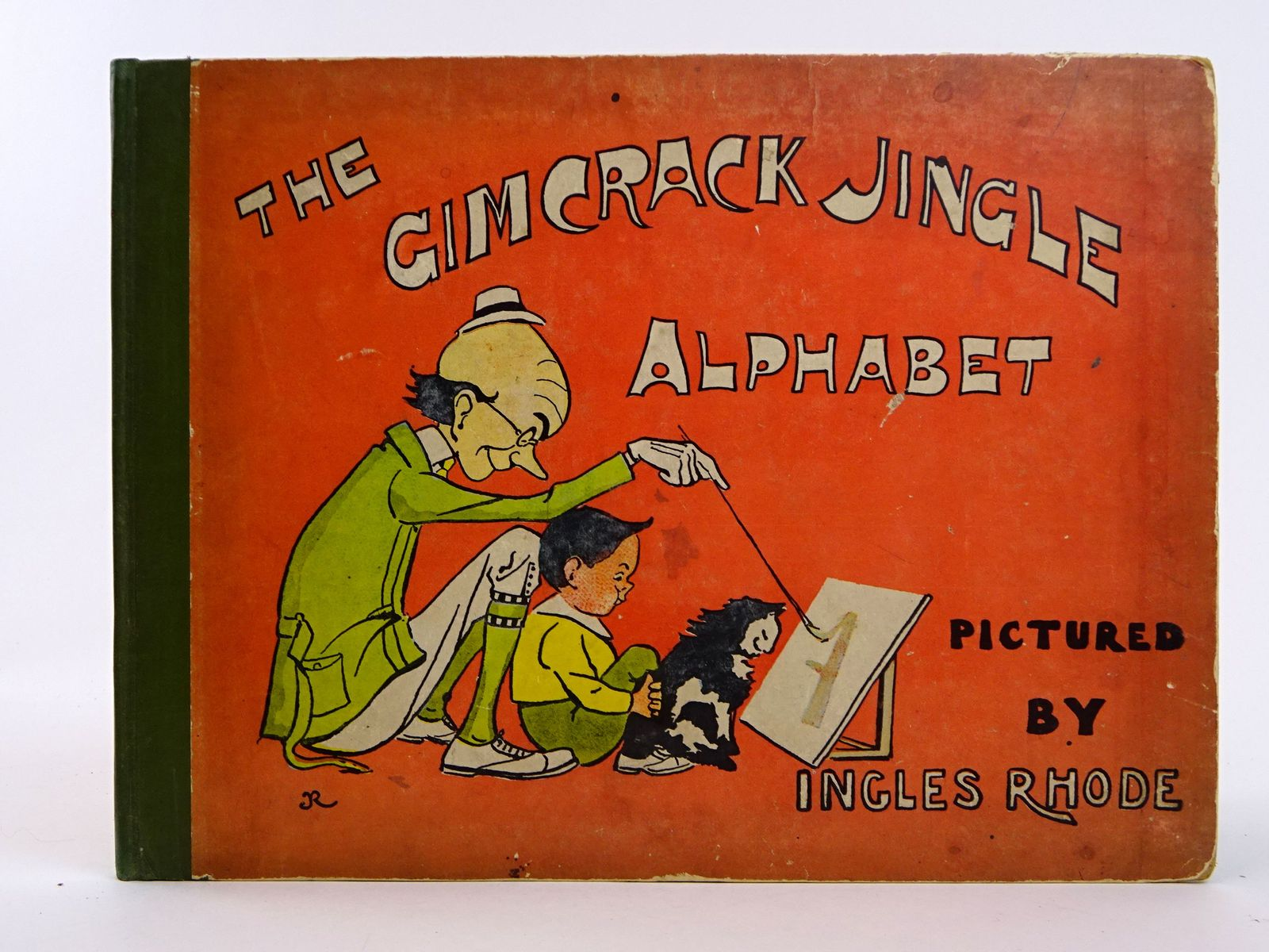 Photo of THE GIMCRACK JINGLE ALPHABET- Stock Number: 1818423