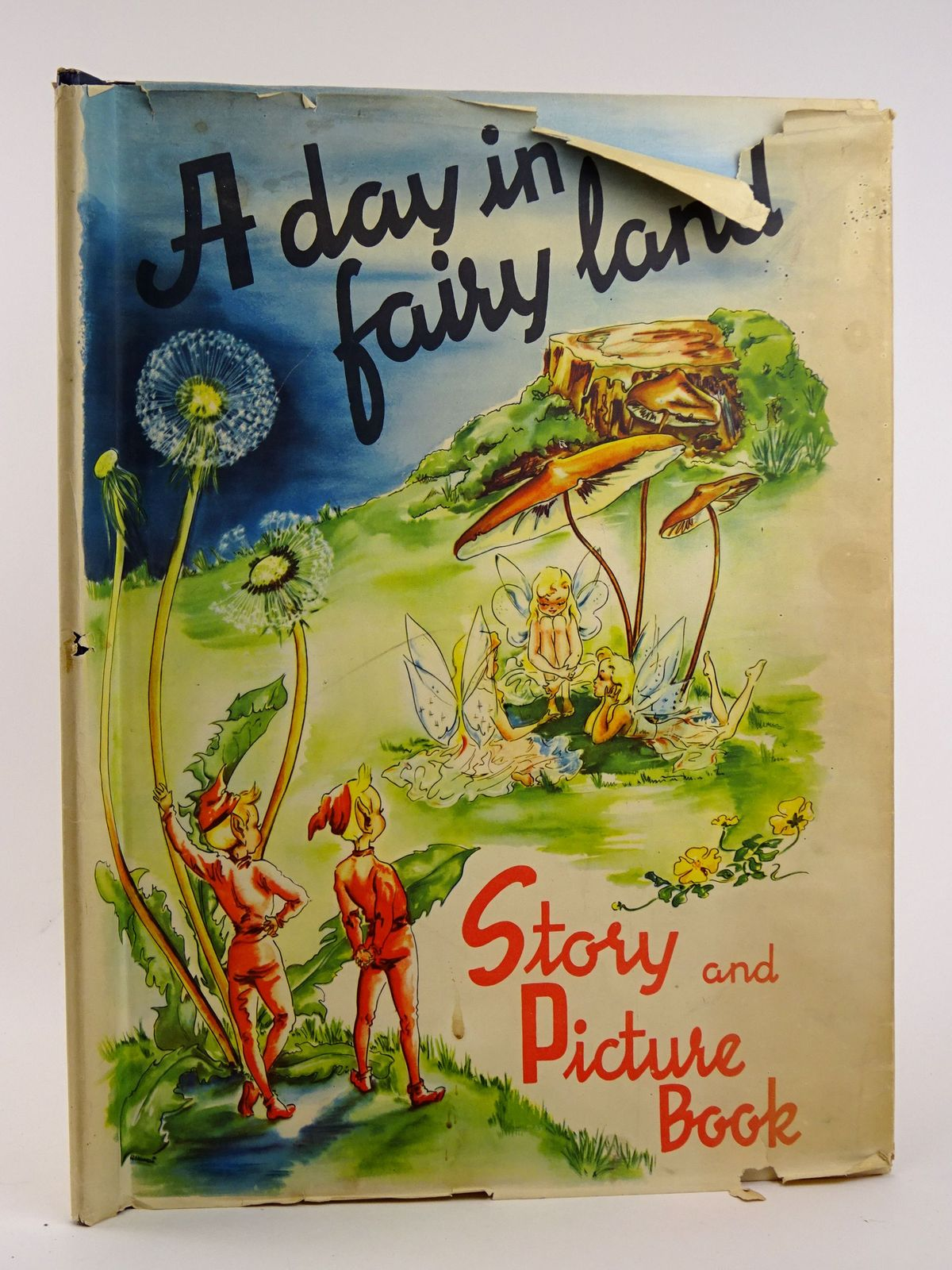 Photo of A DAY IN FAIRY LAND written by Rahmas, Sigrid illustrated by Seagren, Ana Mai published by Helsingborgs Litografiska (STOCK CODE: 1818424)  for sale by Stella & Rose's Books