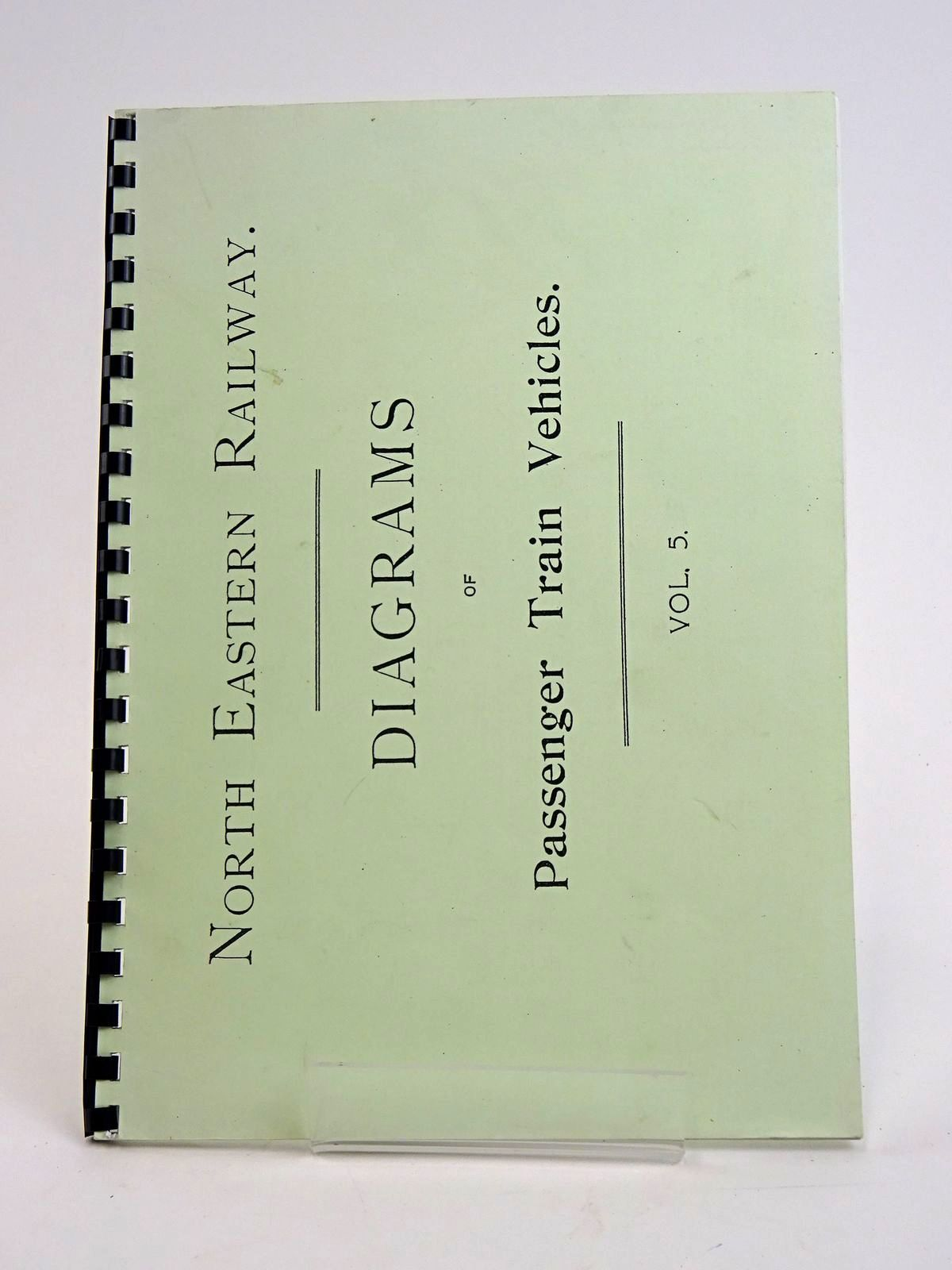 Photo of NORTH EASTERN RAILWAY: DIAGRAMS OF PASSENGER TRAIN VEHICLES VOL. 5- Stock Number: 1818440