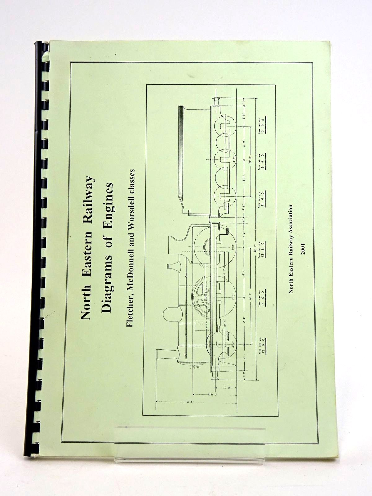 Photo of NORTH EASTERN RAILWAY: DIAGRAMS OF ENGINES FLETCHER, MCDONNELL AND WORSDELL CLASSES- Stock Number: 1818448