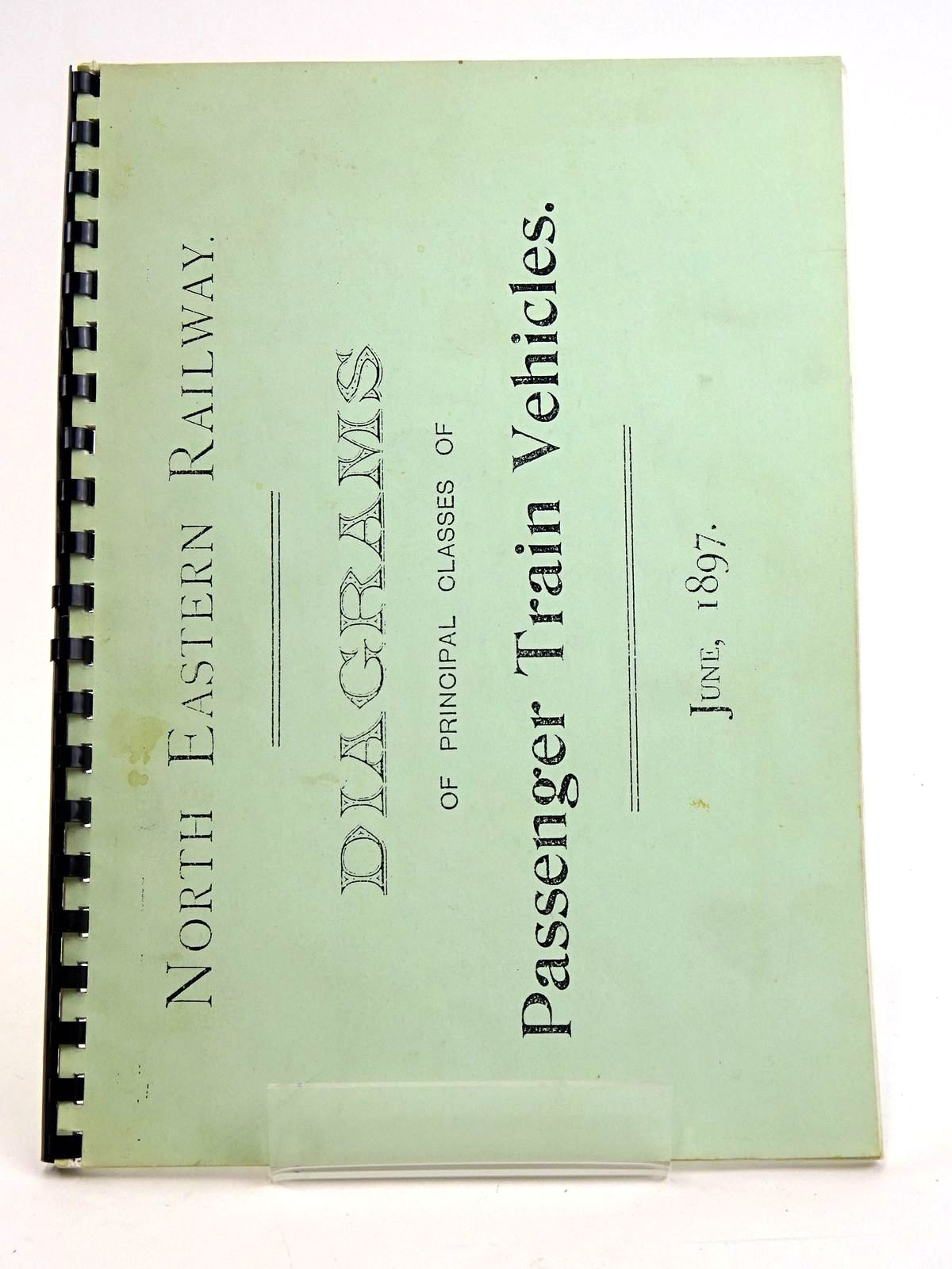 Photo of NORTH EASTERN RAILWAY: DIAGRAMS OF PASSENGER TRAIN VEHICLES VOL. 1 published by The North Eastern Railway Association (STOCK CODE: 1818449)  for sale by Stella & Rose's Books
