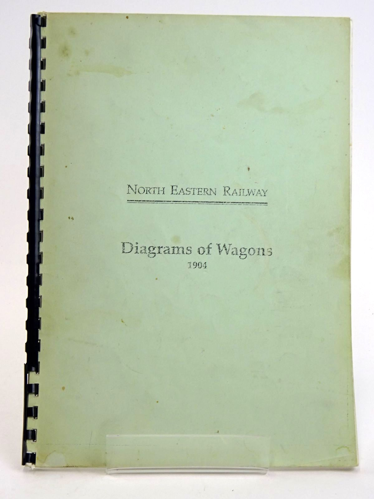 Photo of NORTH EASTERN RAILWAY: DIAGRAMS OF WAGONS 1904- Stock Number: 1818454