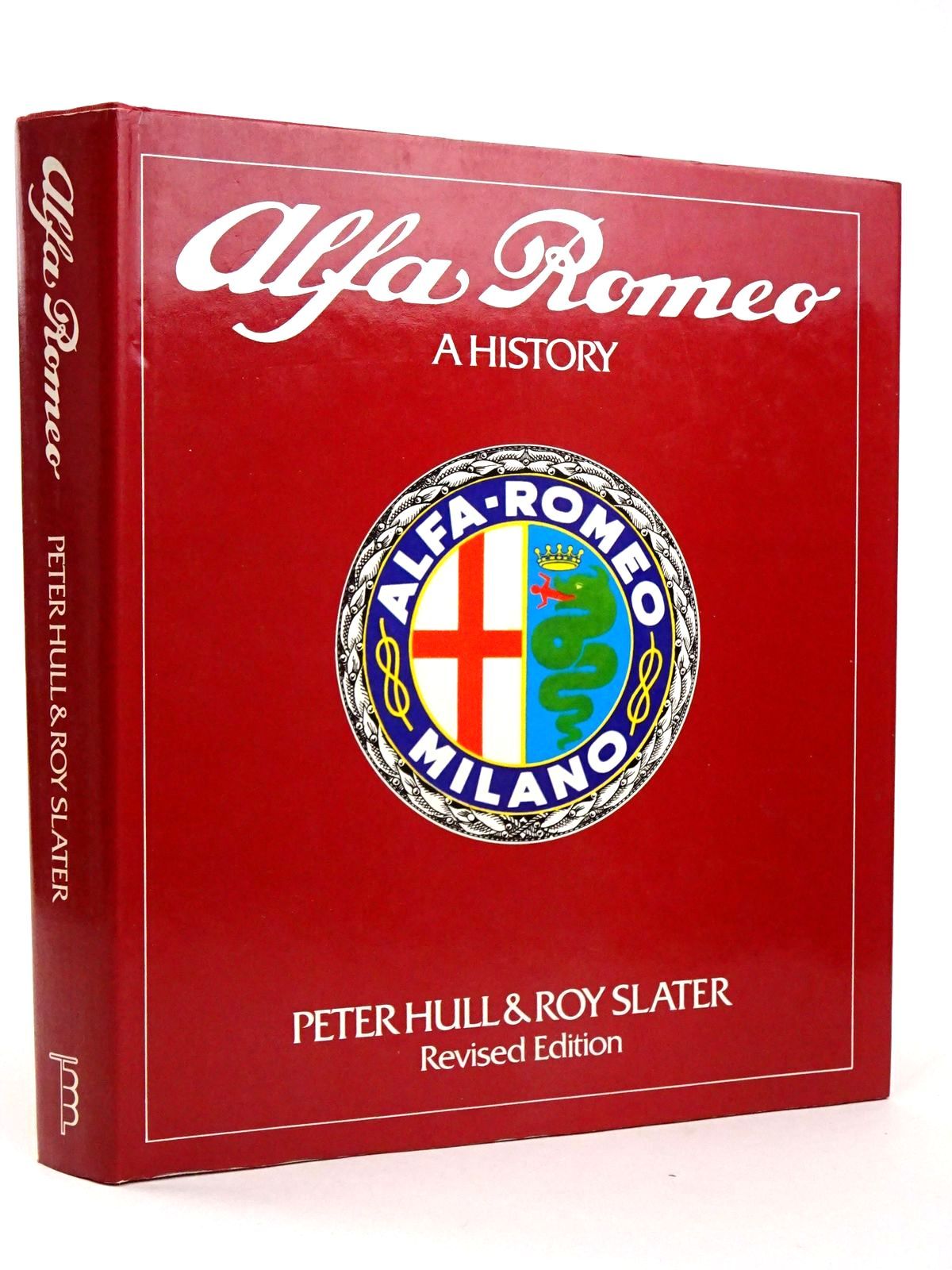 Photo of ALFA ROMEO: A HISTORY written by Hull, Peter<br />Slater, Roy published by Transport Bookman Publications (STOCK CODE: 1818487)  for sale by Stella & Rose's Books
