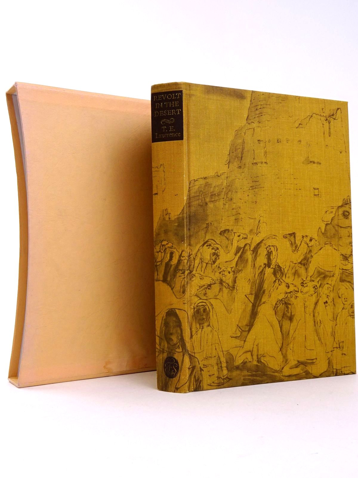 Photo of REVOLT IN THE DESERT written by Lawrence, T.E. illustrated by Bawden, Edward published by Folio Society (STOCK CODE: 1818488)  for sale by Stella & Rose's Books