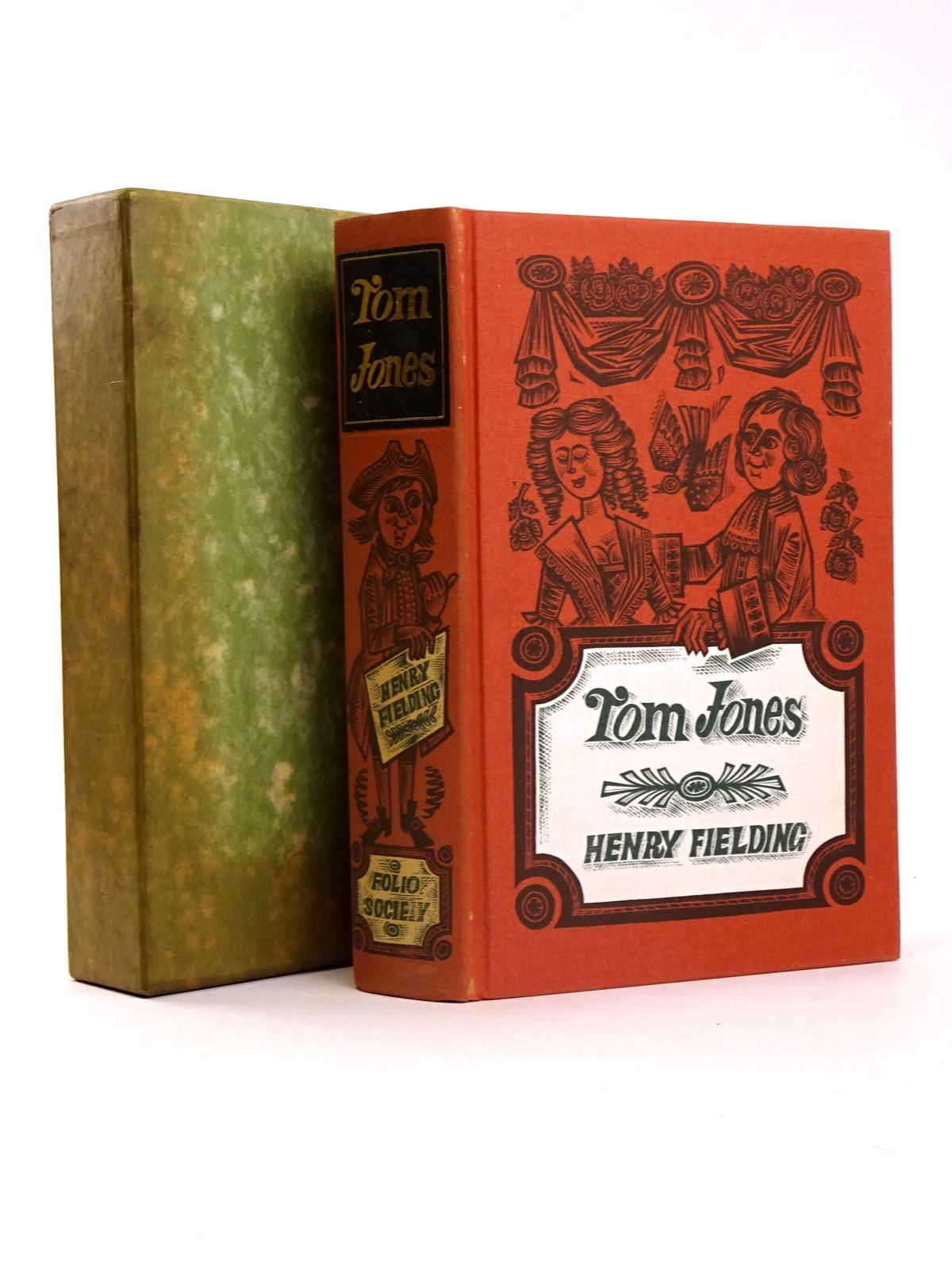 Photo of THE HISTORY OF TOM JONES written by Fielding, Henry illustrated by Harris, Derrick published by Folio Society (STOCK CODE: 1818490)  for sale by Stella & Rose's Books