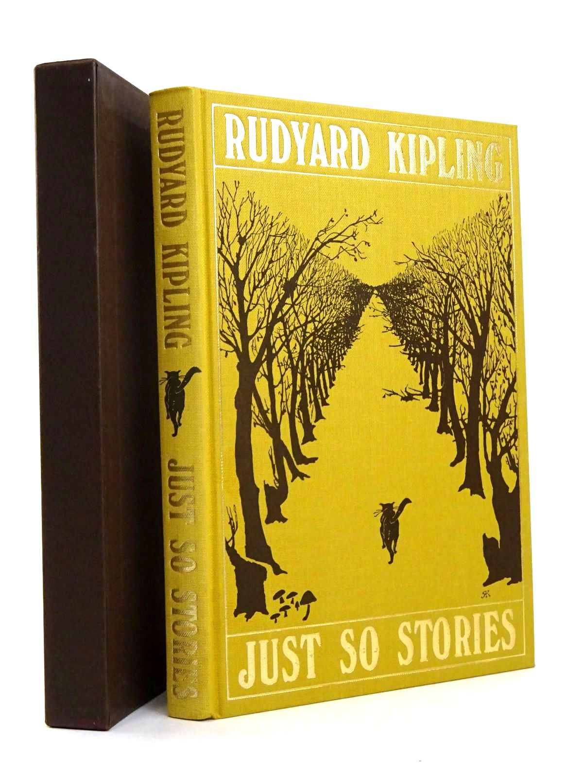 Photo of JUST SO STORIES written by Kipling, Rudyard illustrated by Kipling, Rudyard published by Folio Society (STOCK CODE: 1818493)  for sale by Stella & Rose's Books