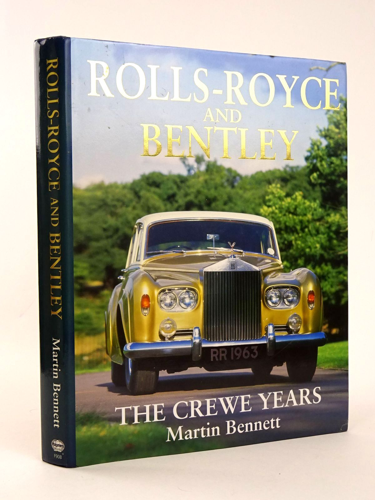 Photo of ROLLS-ROYCE AND BENTLEY: THE CREWE YEARS written by Bennett, Martin published by Foulis, Haynes (STOCK CODE: 1818501)  for sale by Stella & Rose's Books