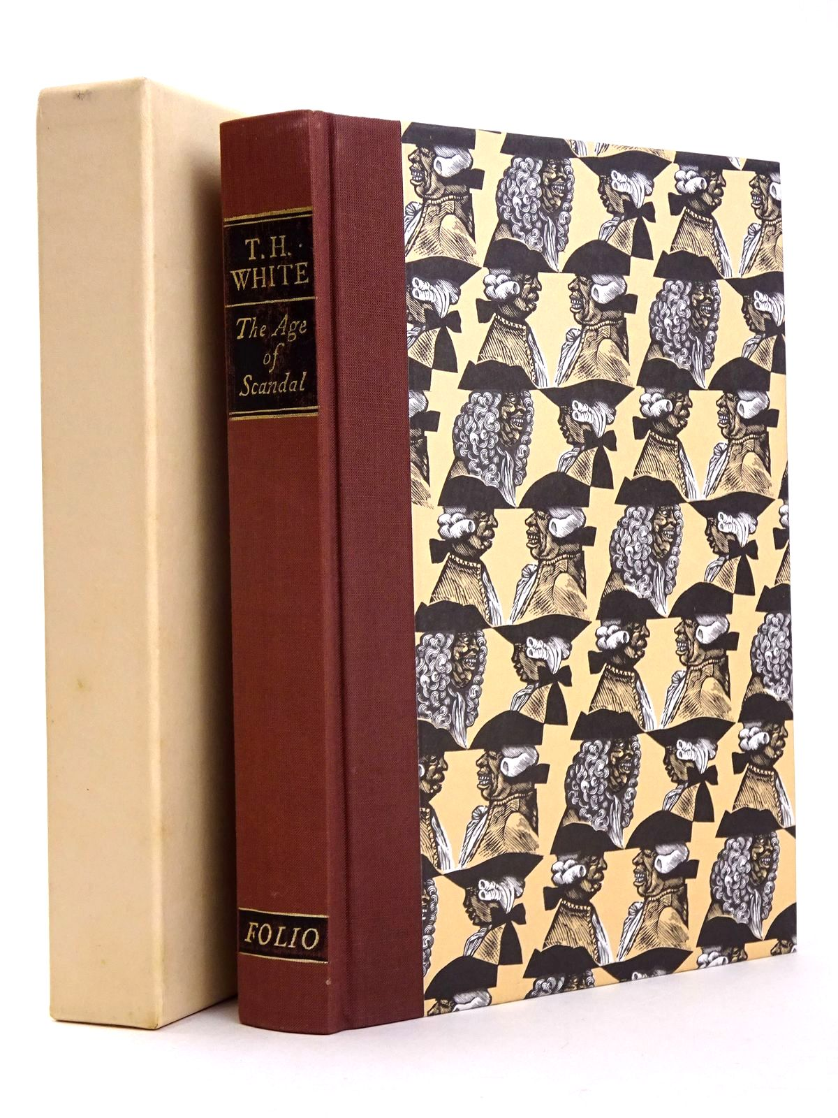 Photo of THE AGE OF SCANDAL: AN EXCURSION THROUGH A MINOR PERIOD written by White, T.H. published by Folio Society (STOCK CODE: 1818503)  for sale by Stella & Rose's Books