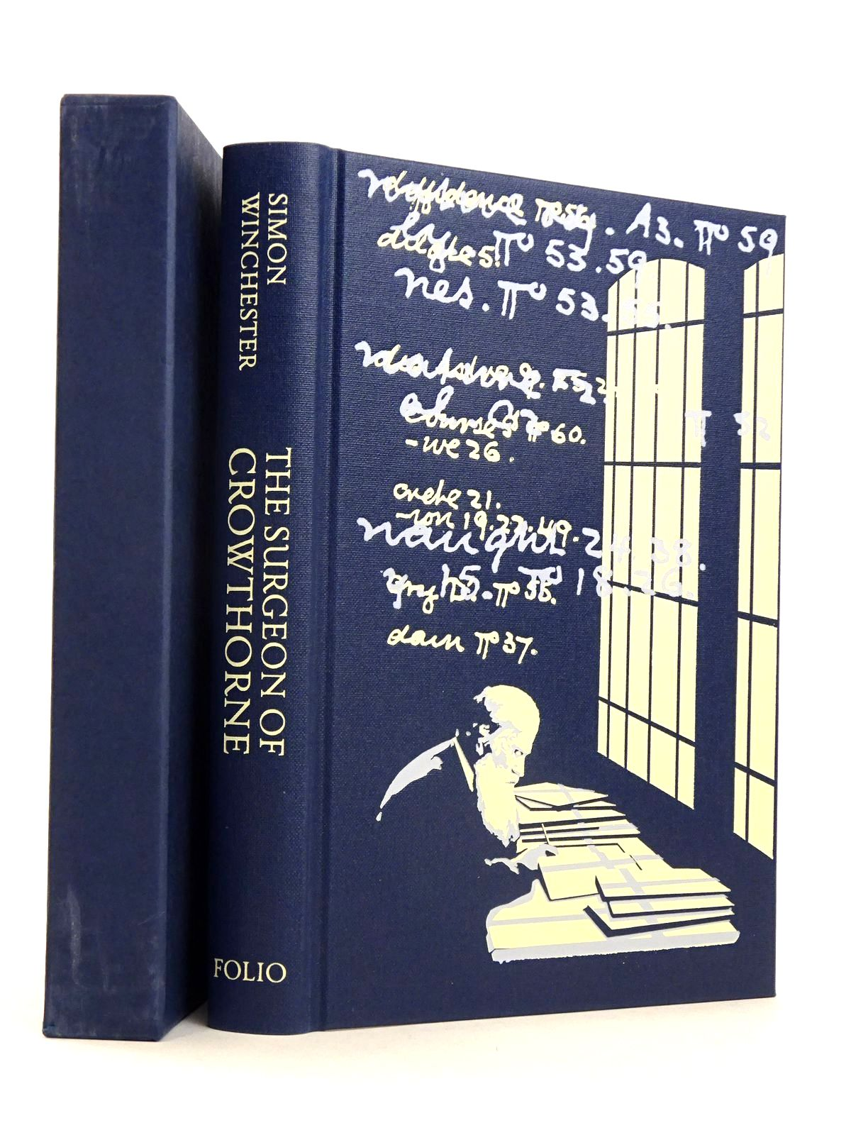 Photo of THE SURGEON OF CROWTHORNE written by Winchester, Simon published by Folio Society (STOCK CODE: 1818517)  for sale by Stella & Rose's Books