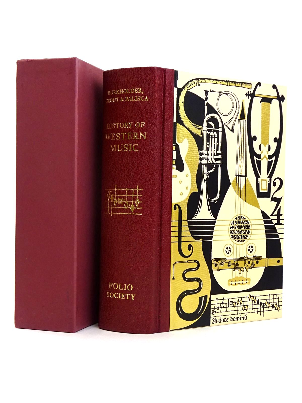 Photo of HISTORY OF WESTERN MUSIC written by Burkholder, J. Peter<br />Grout, Donald Jay<br />Palisca, Claude V. published by Folio Society (STOCK CODE: 1818518)  for sale by Stella & Rose's Books