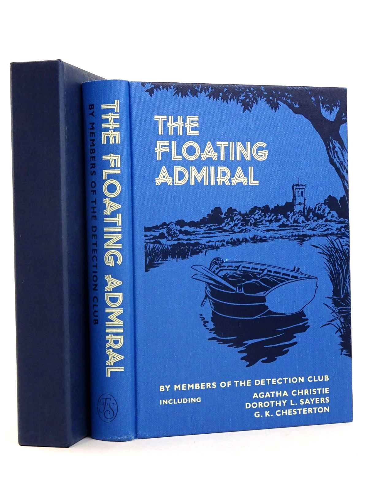 Photo of THE FLOATING ADMIRAL written by Chesterton, G.K.<br />Whitechurch, Victor L.<br />Christie, Agatha<br />et al, illustrated by Thomas, Mark published by Folio Society (STOCK CODE: 1818520)  for sale by Stella & Rose's Books