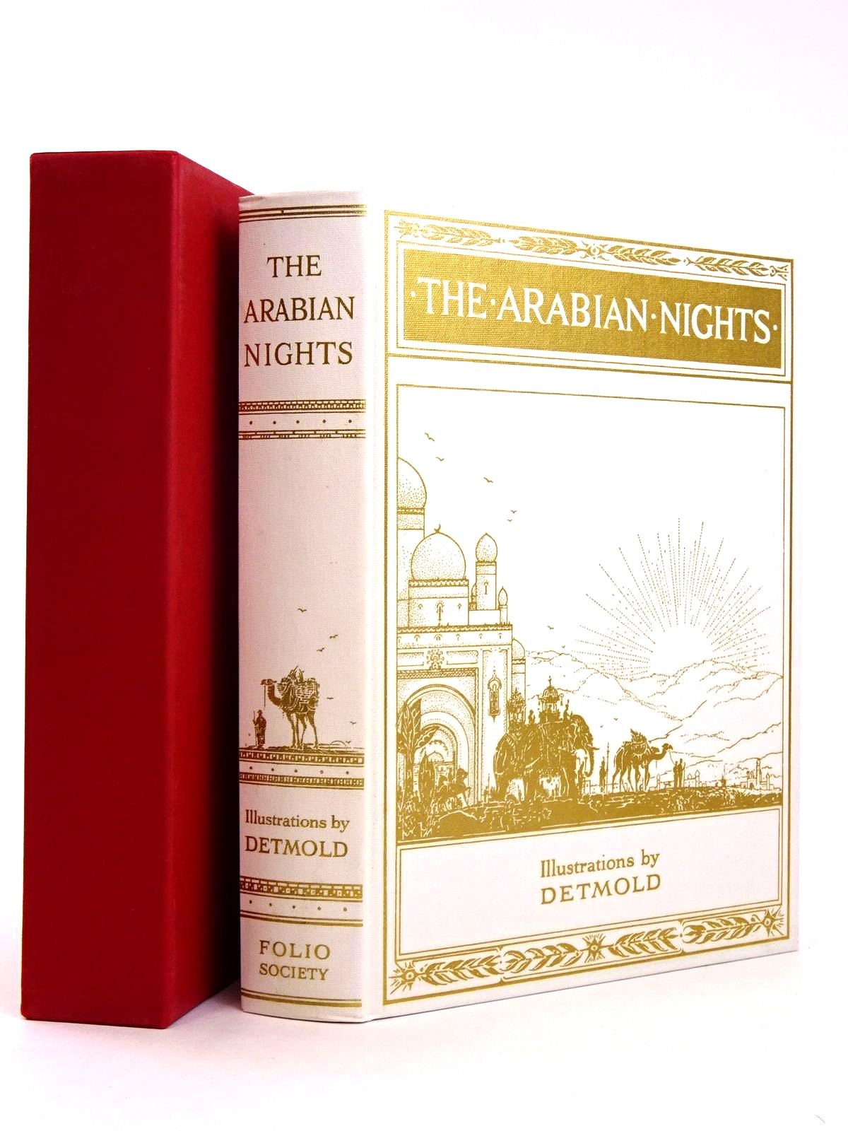 Photo of THE ARABIAN NIGHTS illustrated by Detmold, Edward J. published by Folio Society (STOCK CODE: 1818533)  for sale by Stella & Rose's Books