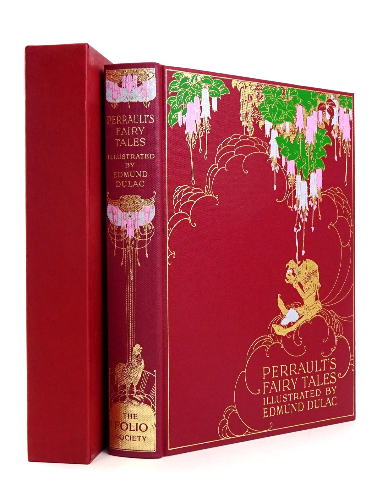 Photo of THE FAIRY TALES OF CHARLES PERRAULT written by Perrault, Charles illustrated by Dulac, Edmund published by Folio Society (STOCK CODE: 1818534)  for sale by Stella & Rose's Books