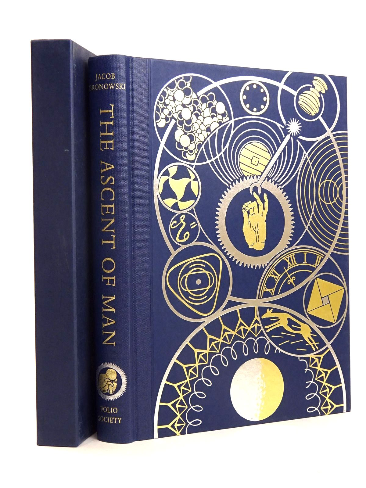 Photo of THE ASCENT OF MAN written by Bronowski, J.<br />Bragg, Melvyn published by Folio Society (STOCK CODE: 1818535)  for sale by Stella & Rose's Books