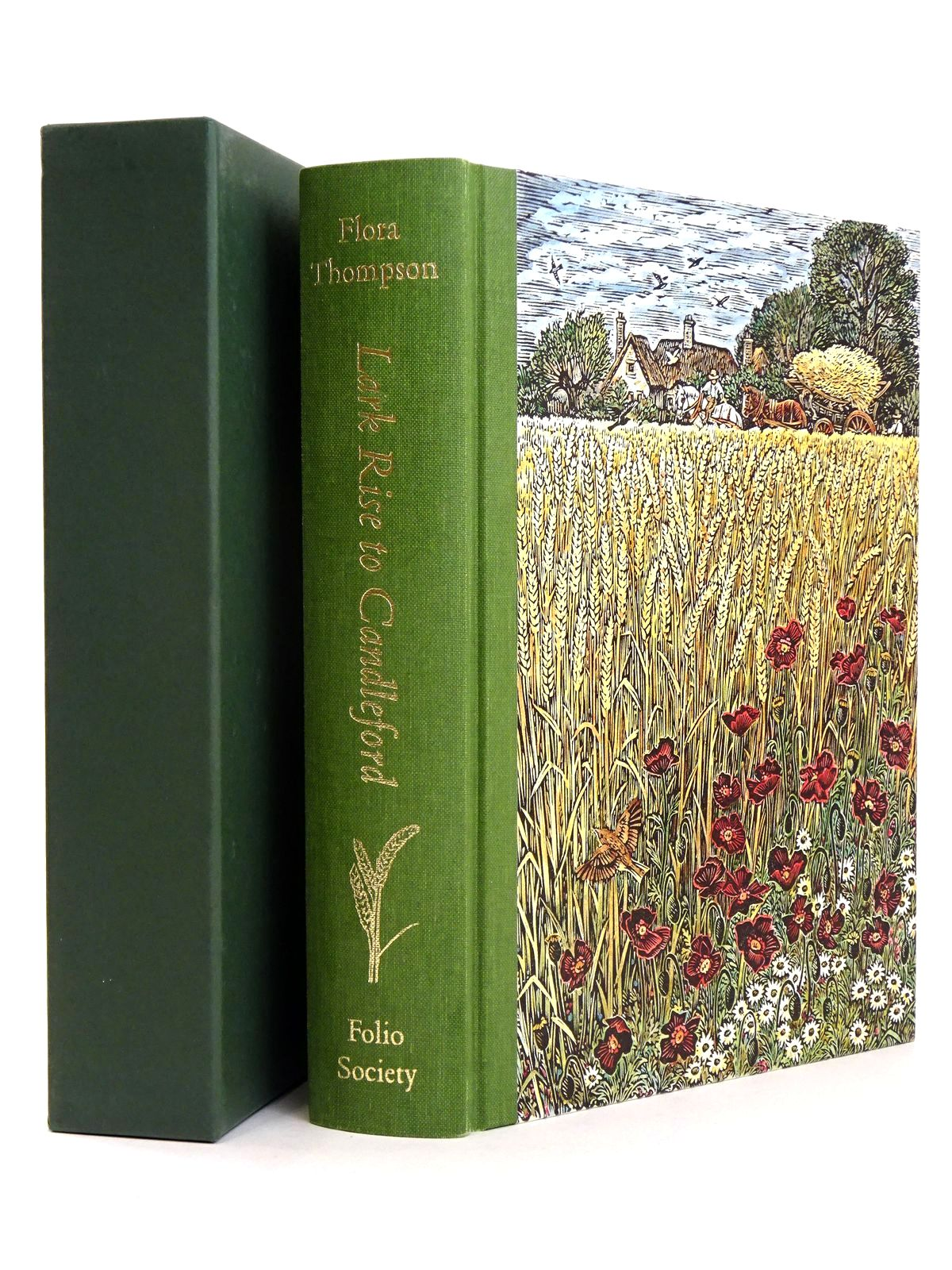 Photo of LARK RISE TO CANDLEFORD written by Thompson, Flora illustrated by Scullard, Sue published by Folio Society (STOCK CODE: 1818537)  for sale by Stella & Rose's Books