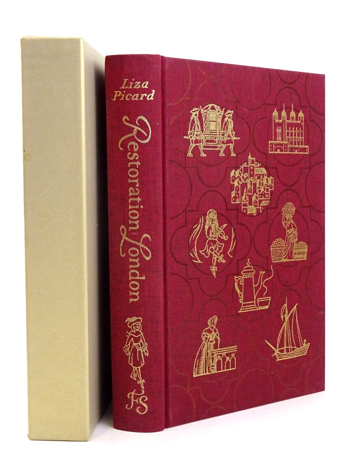 Photo of RESTORATION LONDON: EVERYDAY LIFE IN LONDON 1660-1670 written by Picard, Liza published by Folio Society (STOCK CODE: 1818538)  for sale by Stella & Rose's Books