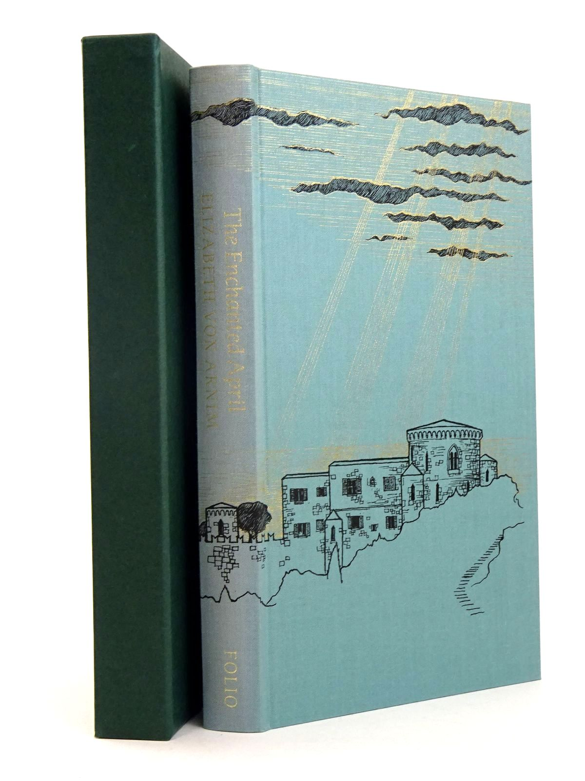 Photo of THE ENCHANTED APRIL written by Von Arnim, Elizabeth Howard, Elizabeth Jane illustrated by McFarlane, Debra published by Folio Society (STOCK CODE: 1818539)  for sale by Stella & Rose's Books