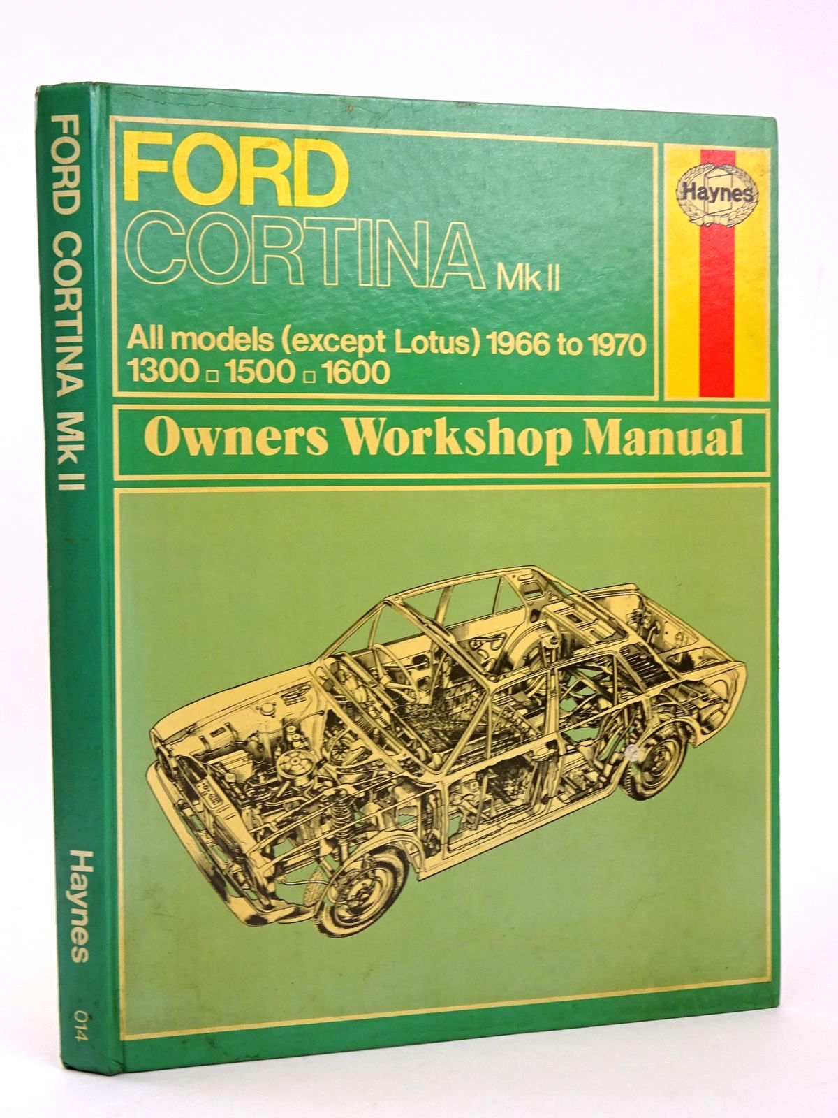 Photo of FORD CORTINA MK II OWNERS WORKSHOP MANUAL written by Haynes, J.H. published by J.H. Haynes & Co. Ltd. (STOCK CODE: 1818543)  for sale by Stella & Rose's Books