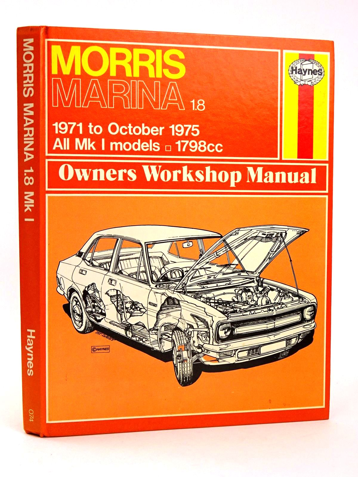 Photo of MARINA OWNER'S WORKSHOP MANUAL written by Haynes, J.H. Hunt, B.L. Chalmers published by Haynes Publishing Group (STOCK CODE: 1818544)  for sale by Stella & Rose's Books