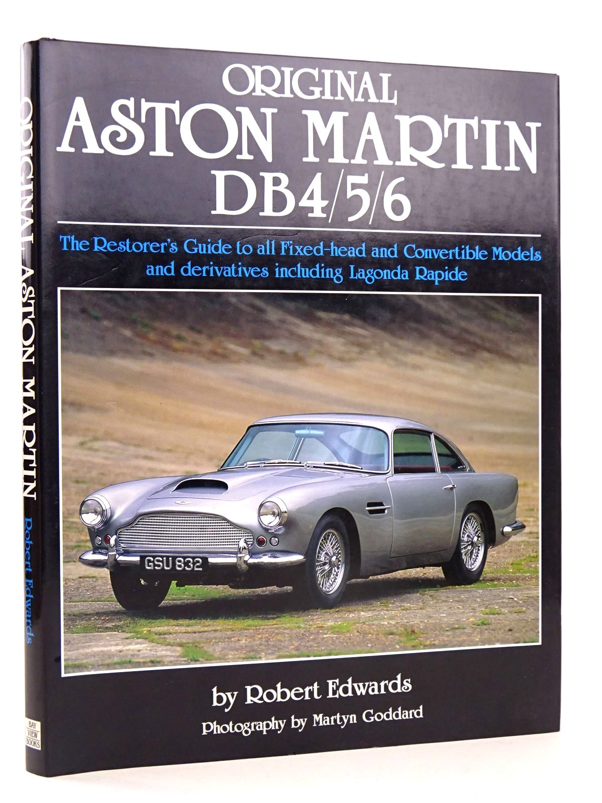 Photo of ORIGINAL ASTON MARTIN DB4/5/6 written by Edwards, Robert published by Bay View Books (STOCK CODE: 1818569)  for sale by Stella & Rose's Books