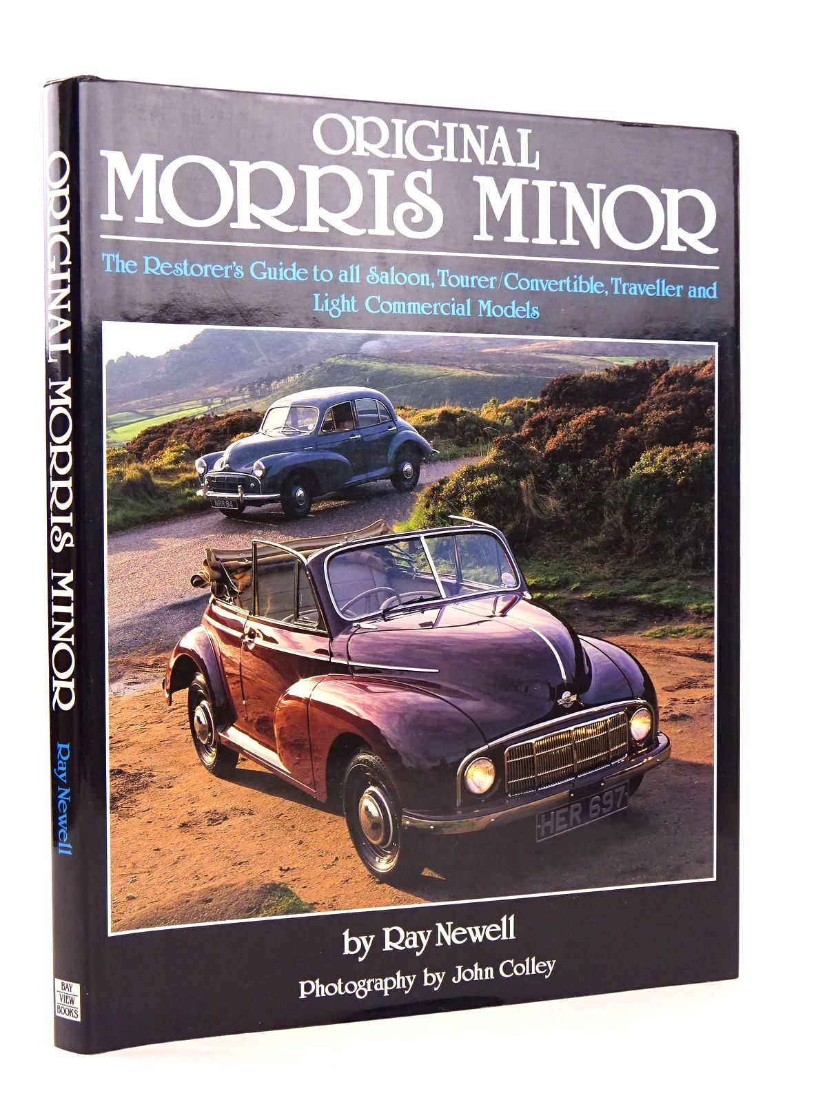 Photo of ORIGINAL MORRIS MINOR written by Newell, Ray published by Bay View Books (STOCK CODE: 1818572)  for sale by Stella & Rose's Books